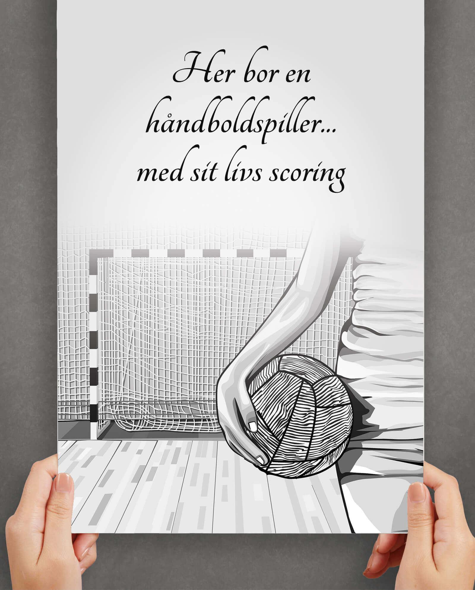 haanboldspiller-arbejde-plakat-1