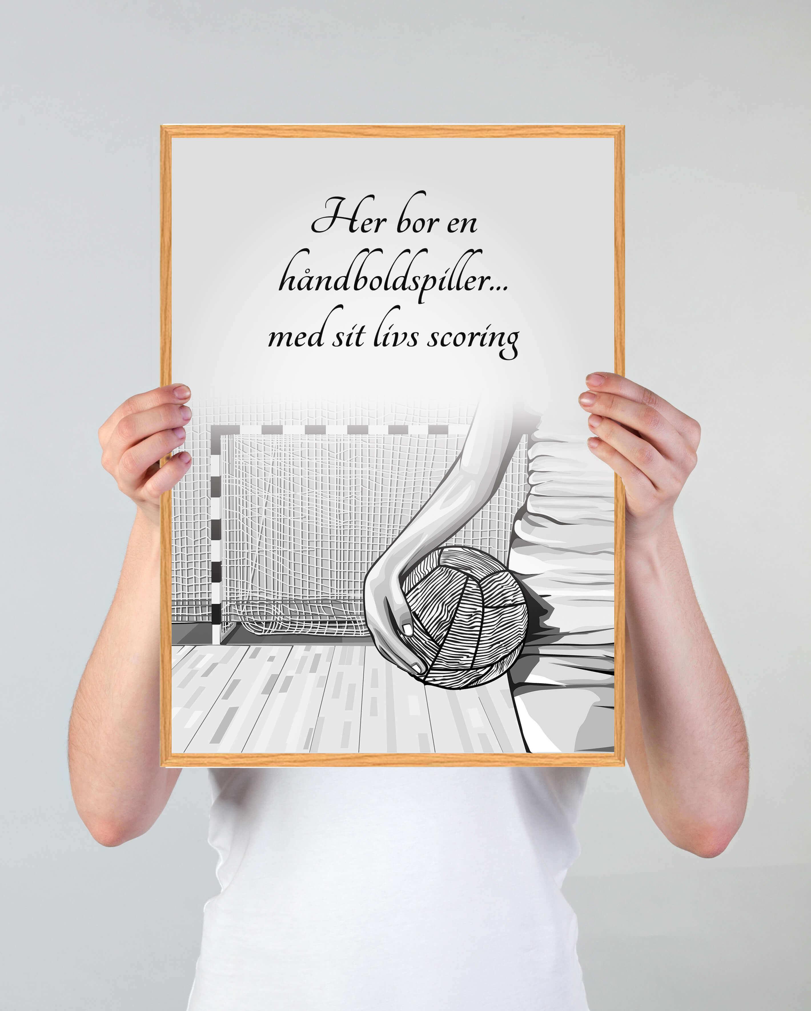 haanboldspiller-arbejde-plakat-3