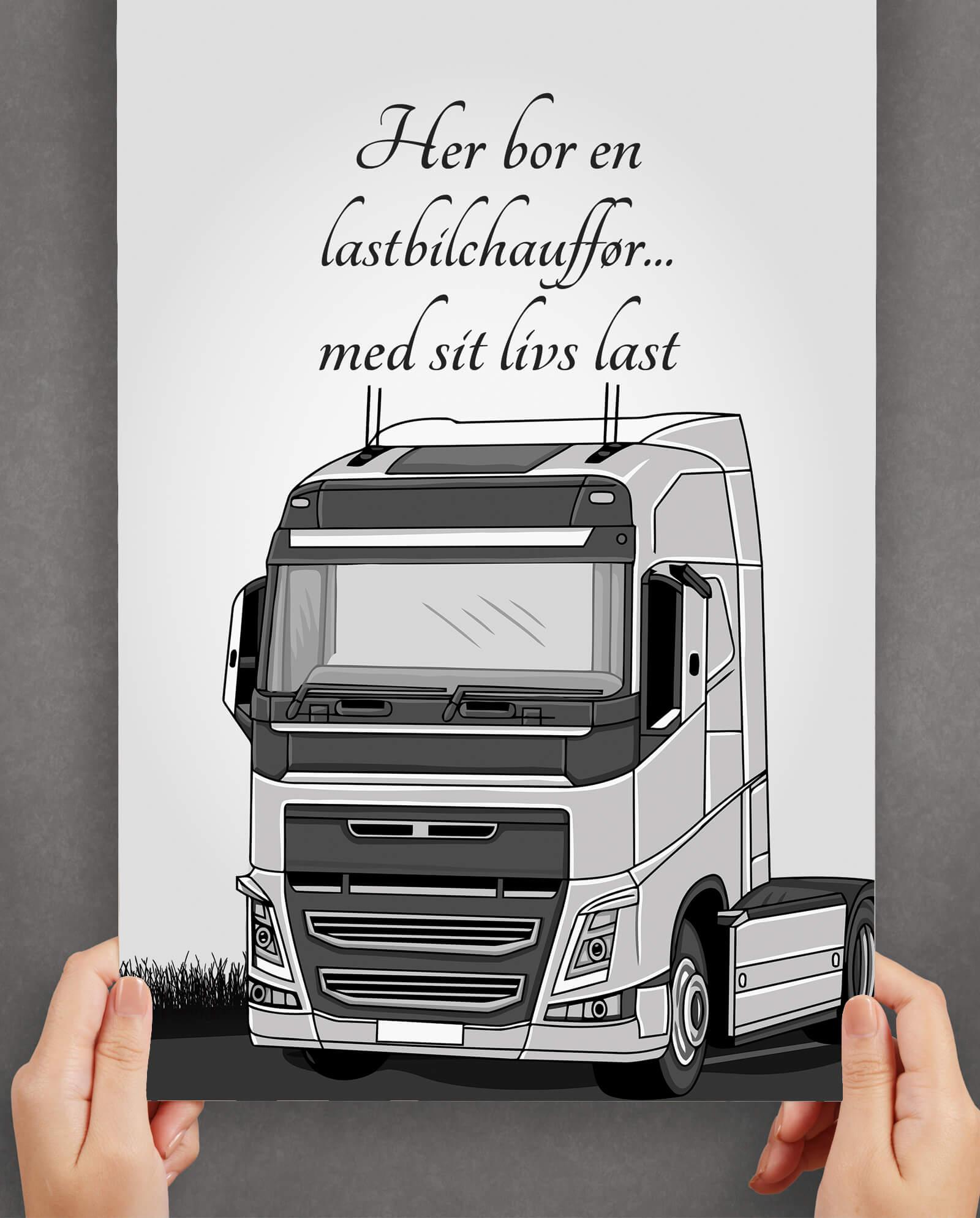 lastbilchauffoer-last-plakat-2