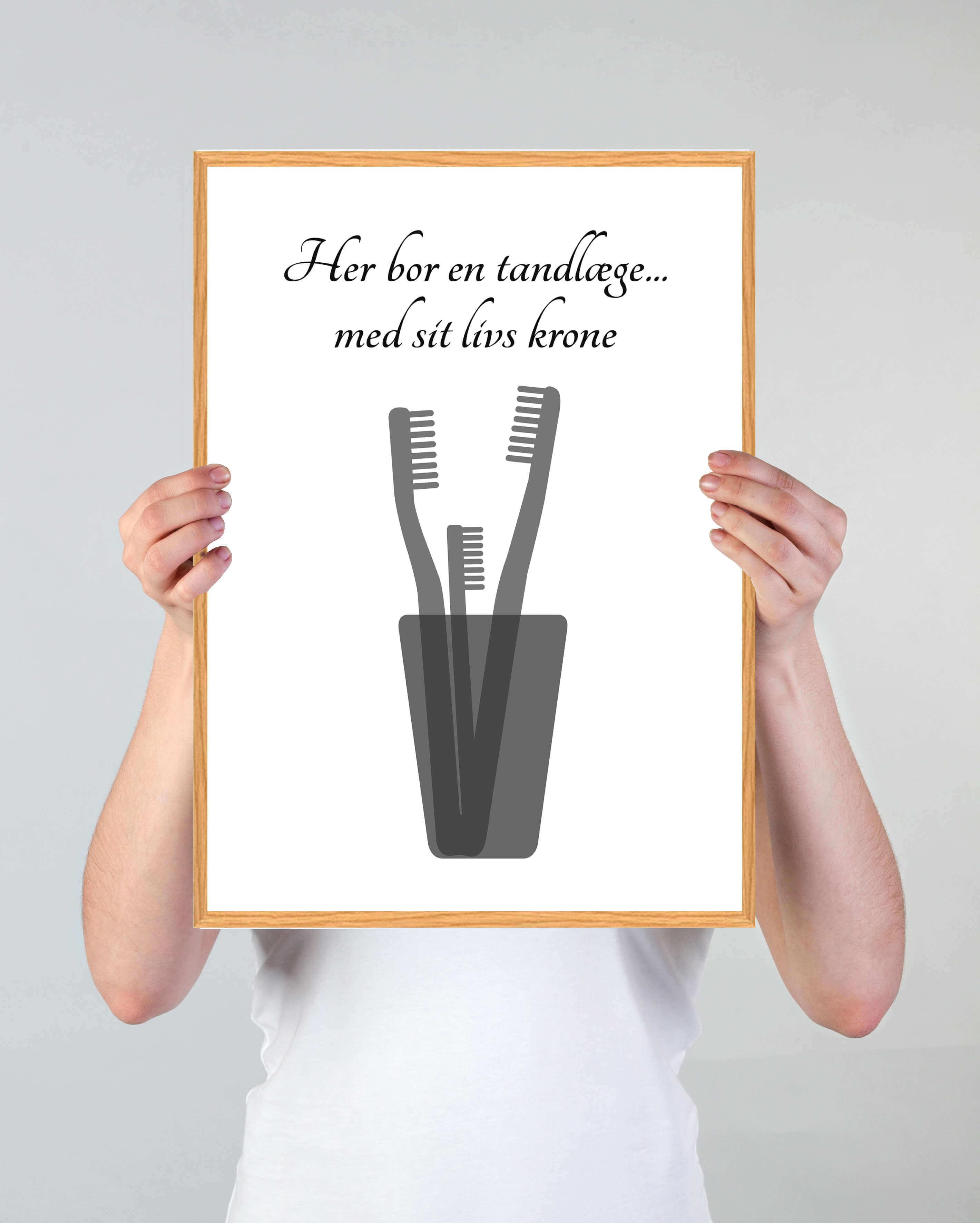 tandlaege-job-plakat