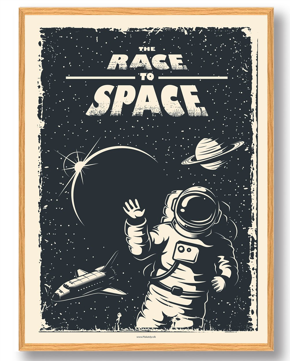 Race to space - plakat