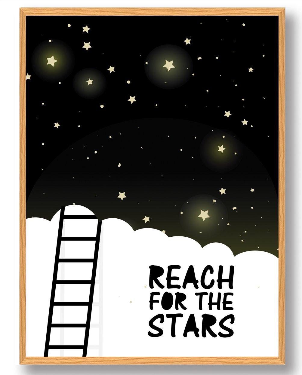 Reach for the stars - plakat