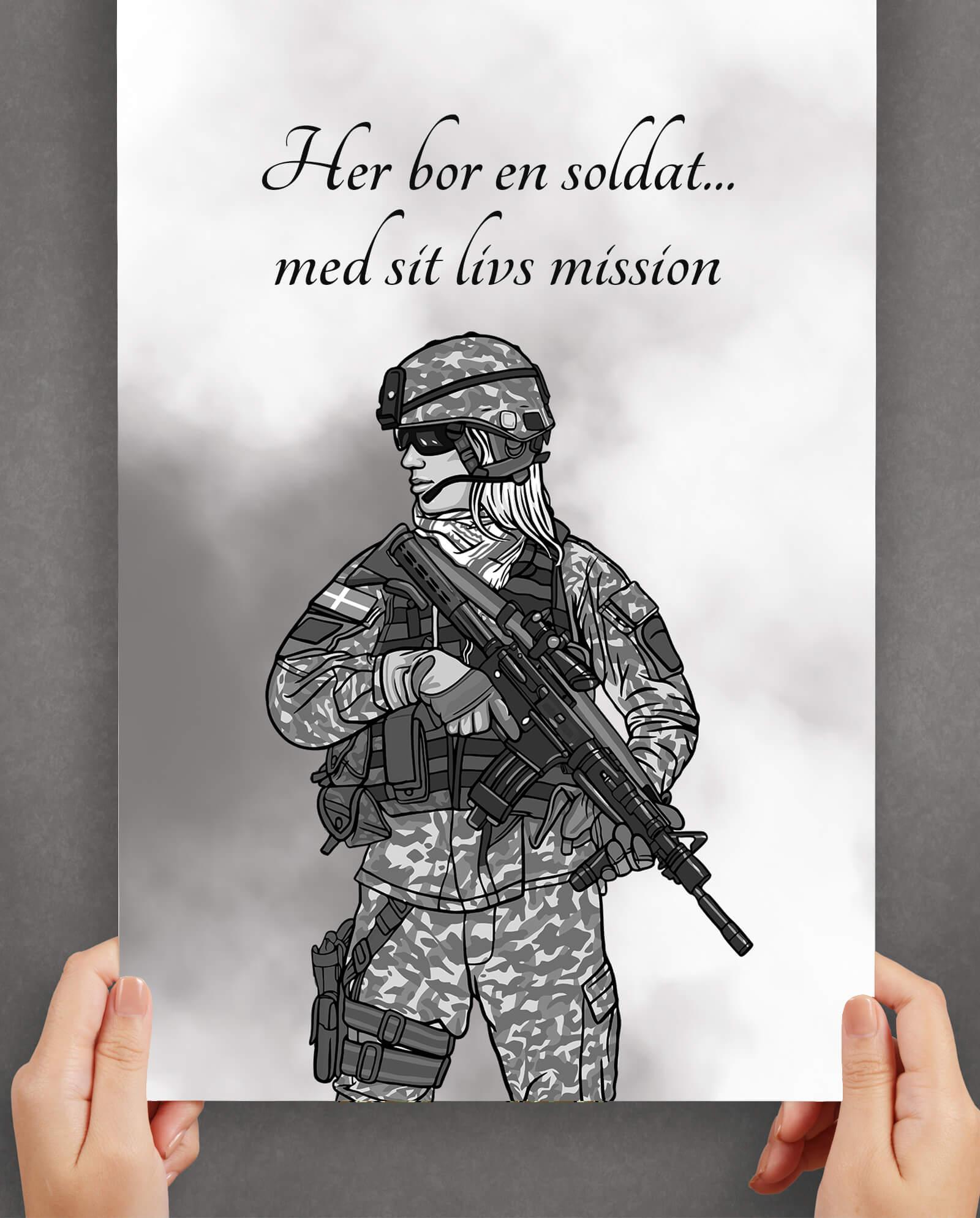 Indretning-soldat