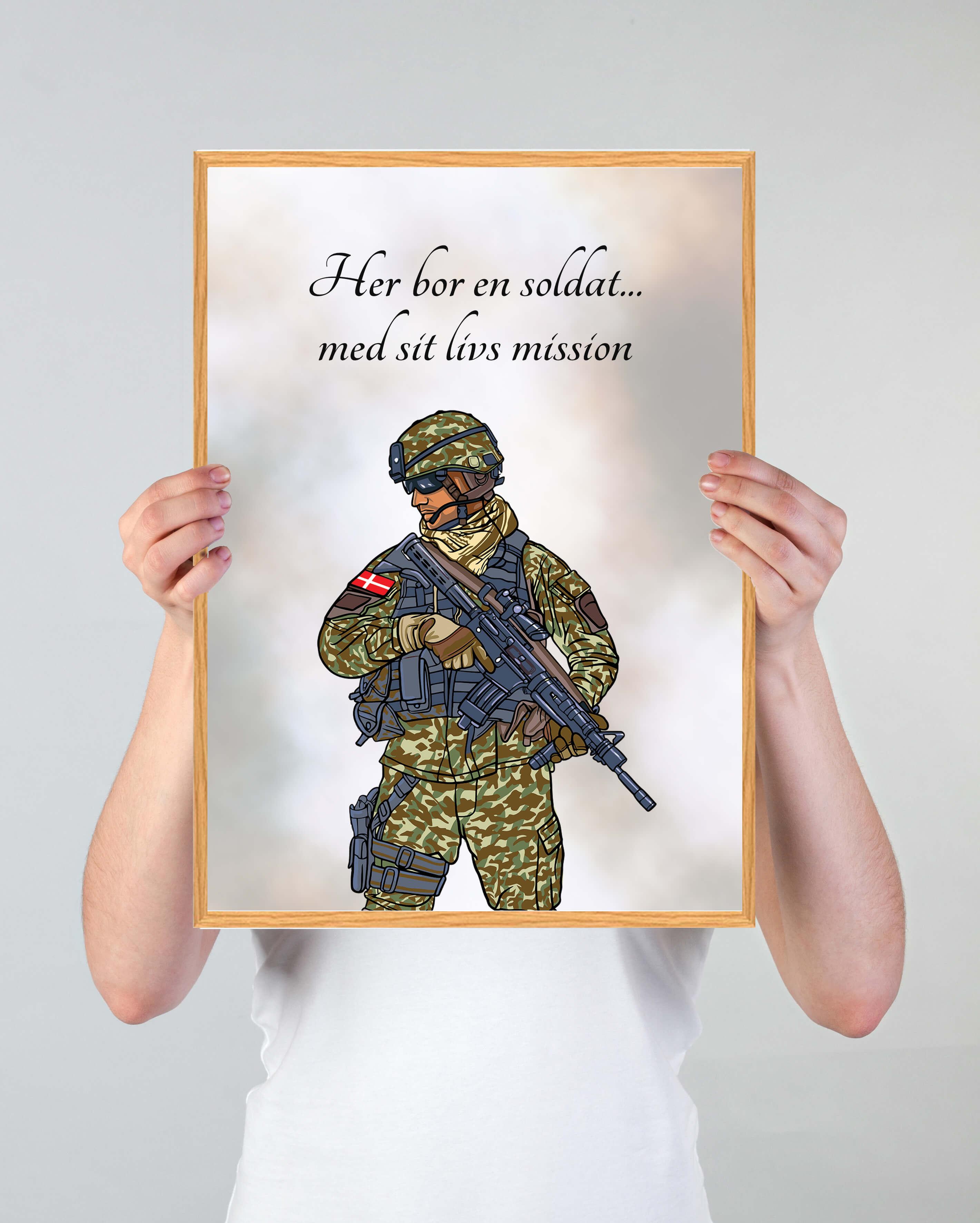 Soldat-indretning-plakat