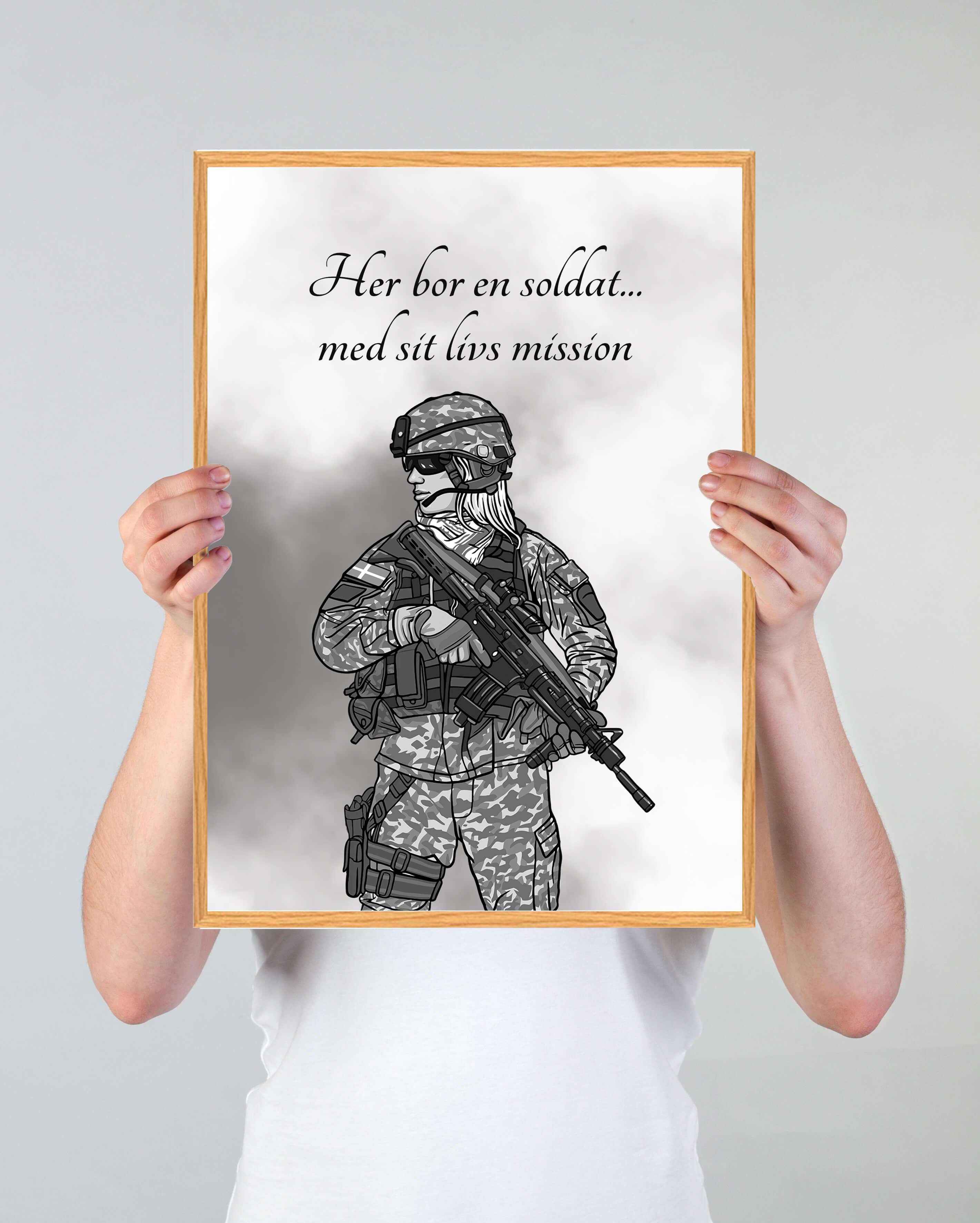 Soldat-plakat-indretning
