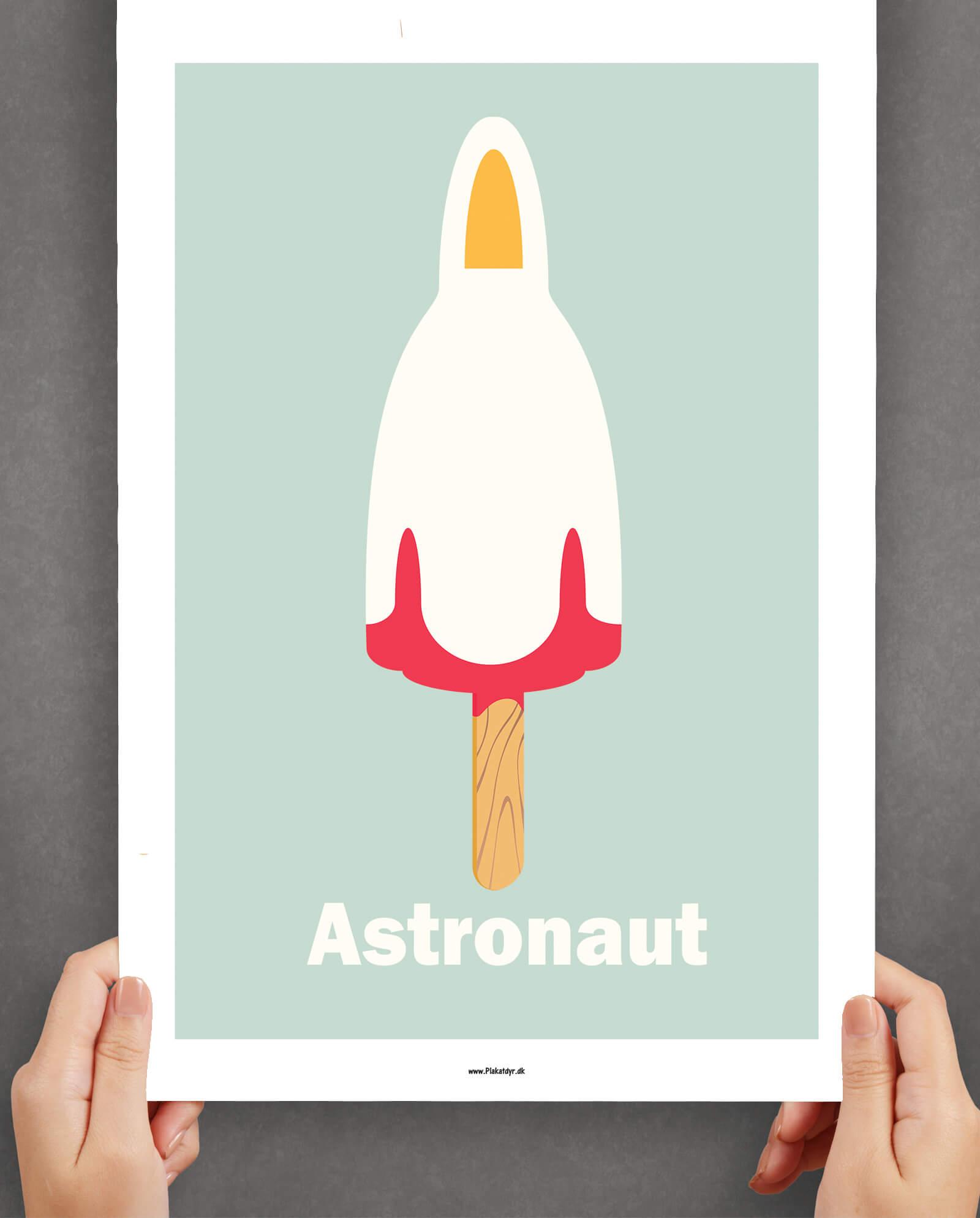 astronaut-plakat-blaa-1