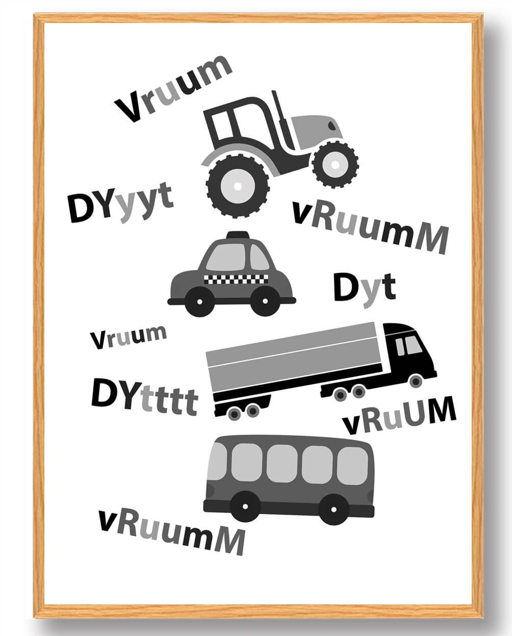 Vruum Vruum - plakat