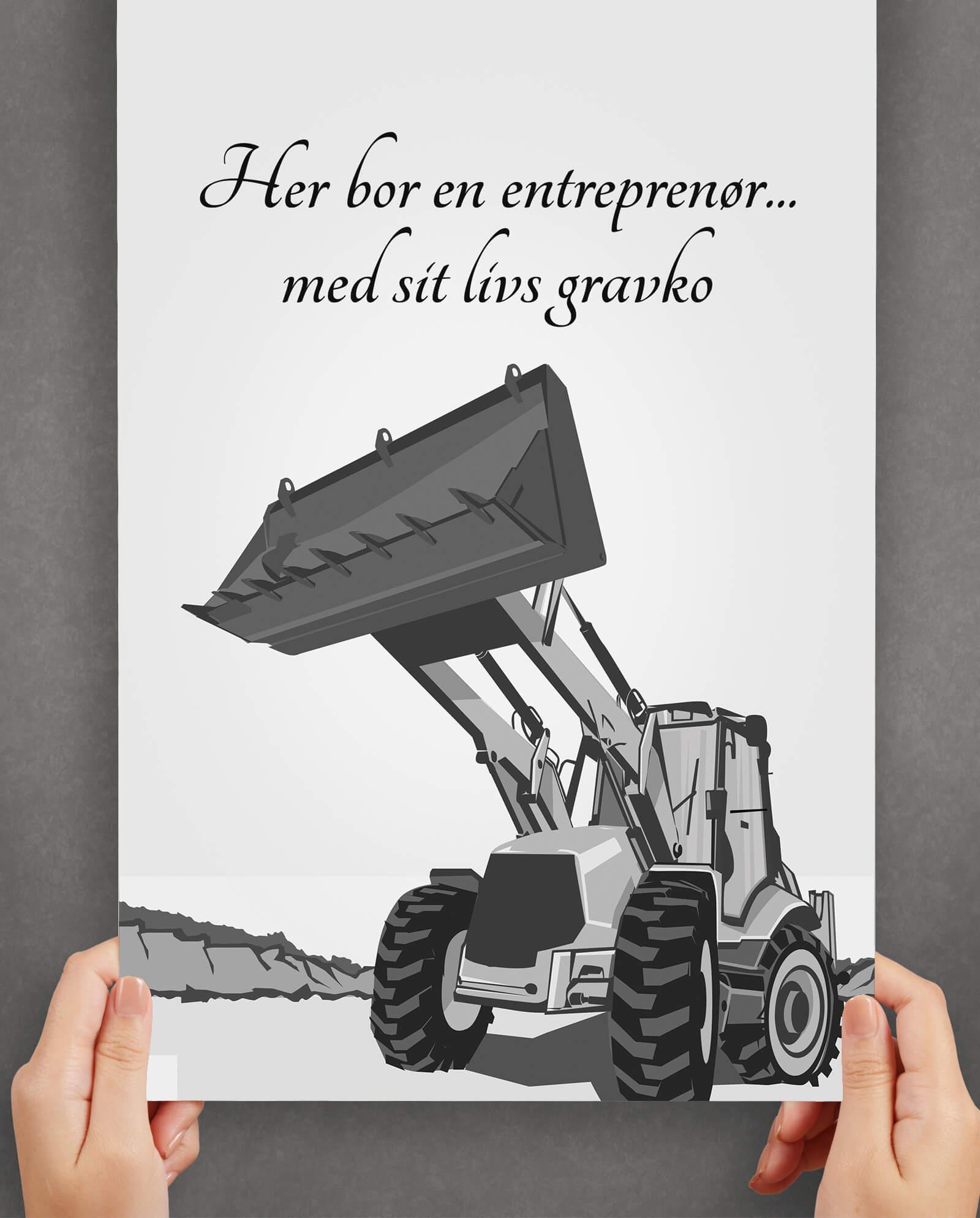 entreprenoer-sorthvid-gravko