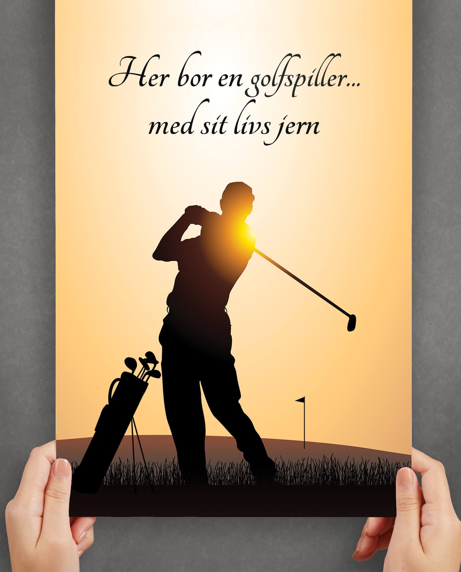 golf-guld-plakat