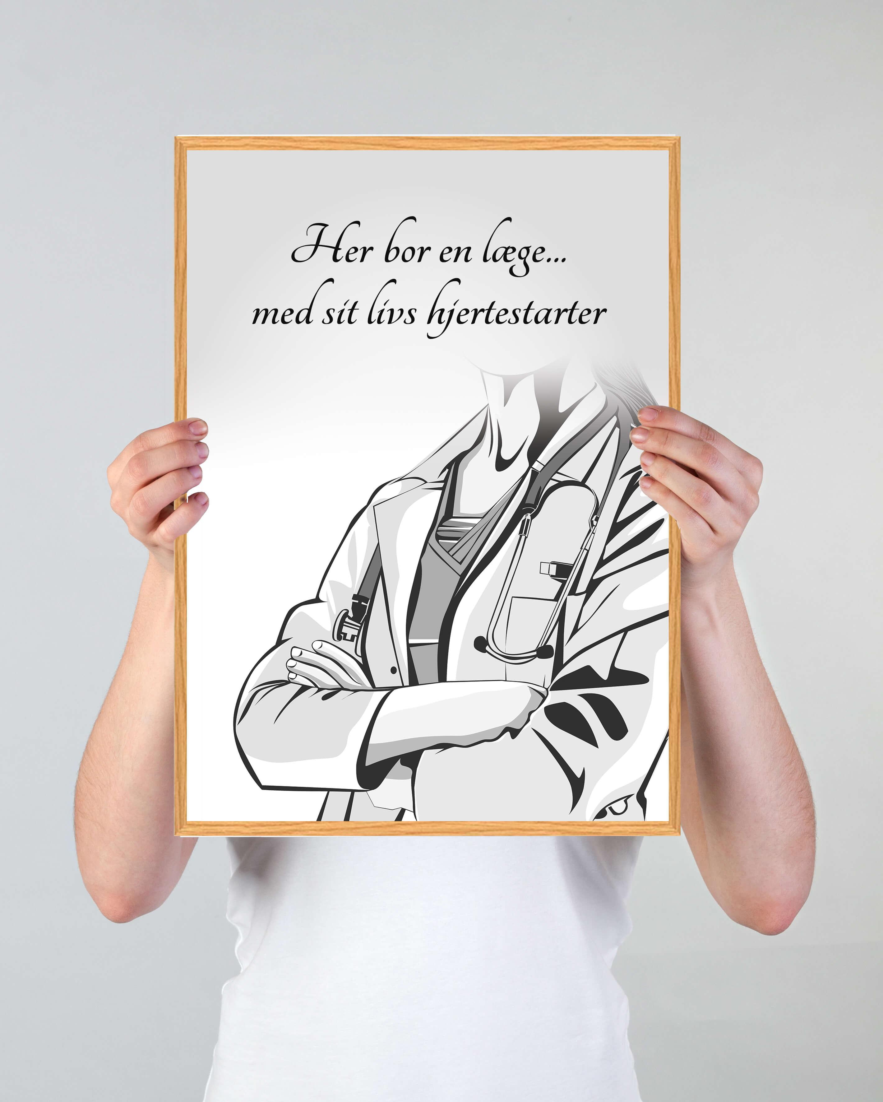 indretning-læge-plakat