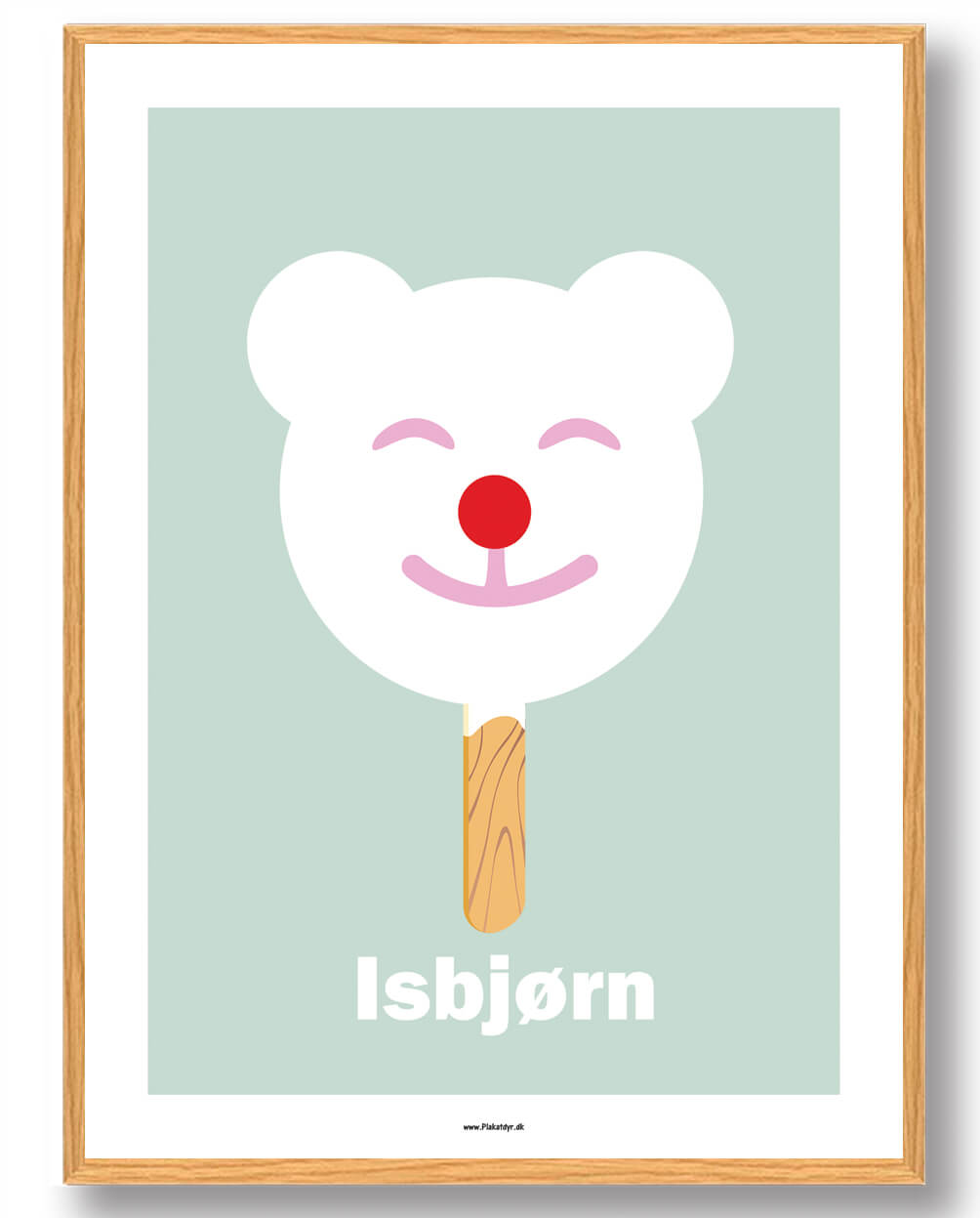 Isbjørn - plakat