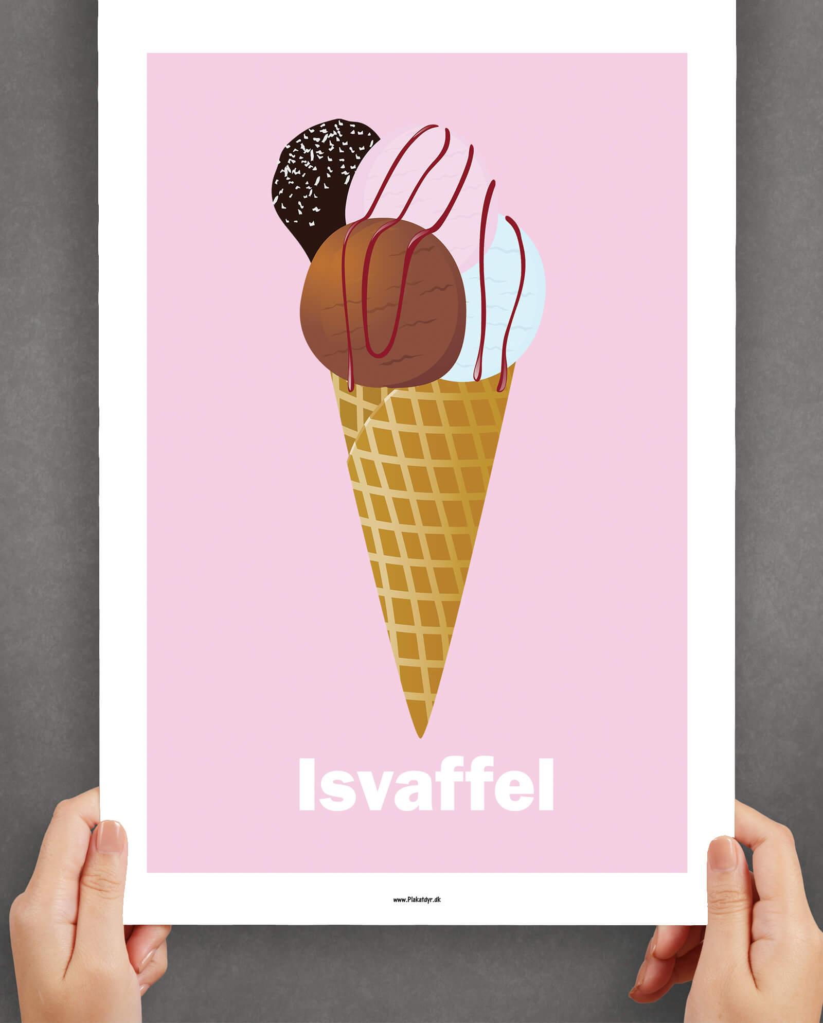 isvaffel-plakat-roed-1