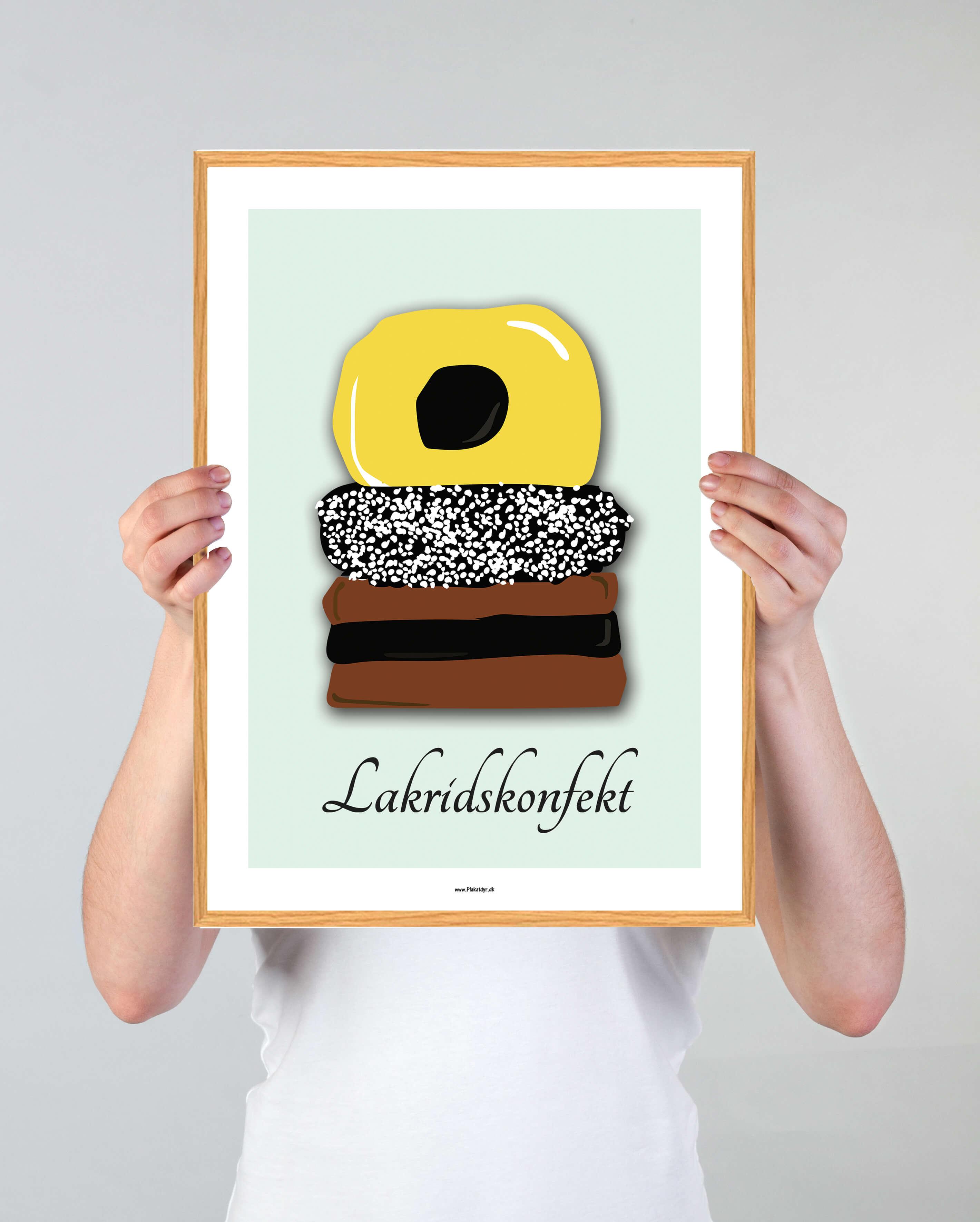 lakridskonfekt-groen-plakat