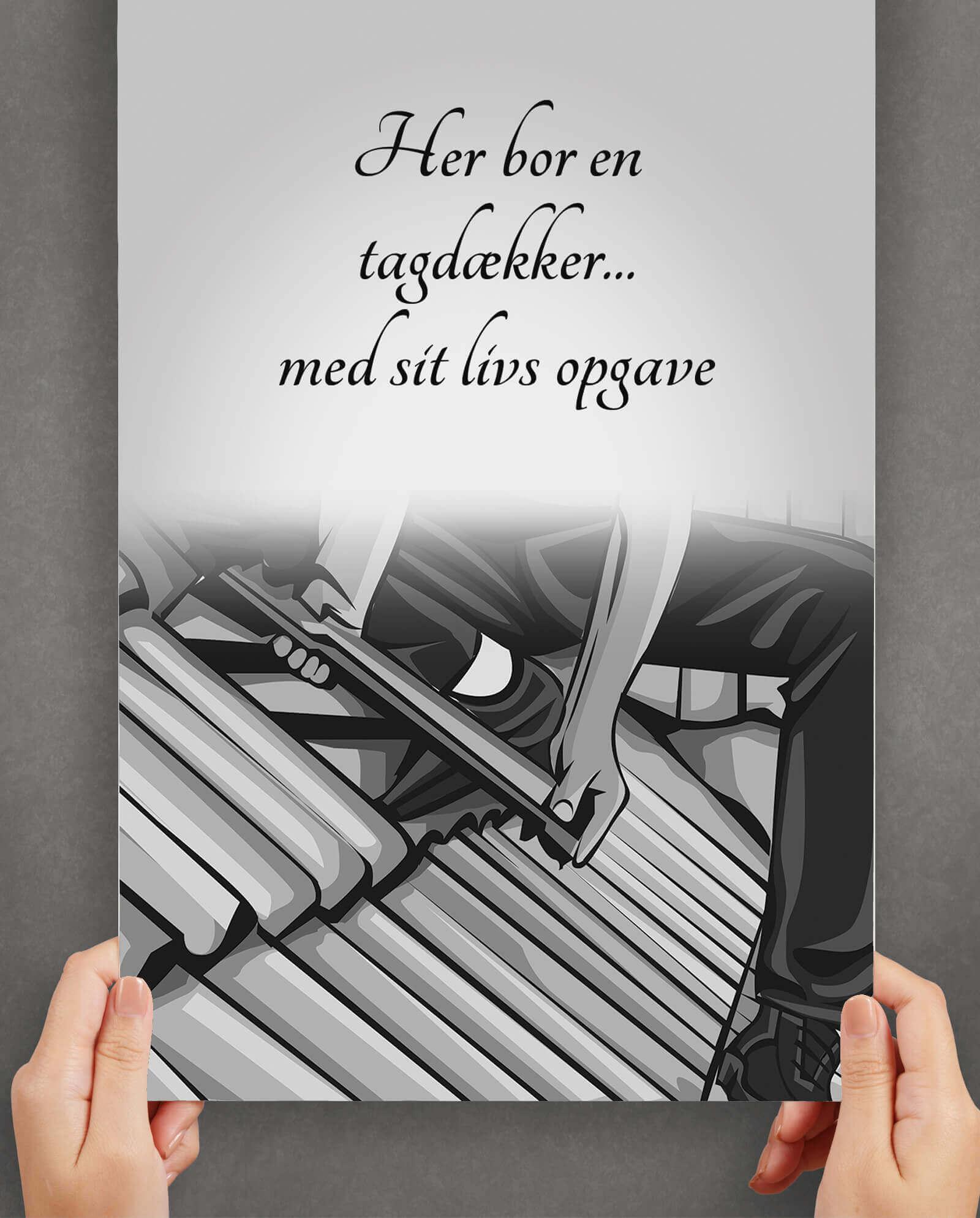 tagdaekker-arbejde-plakat