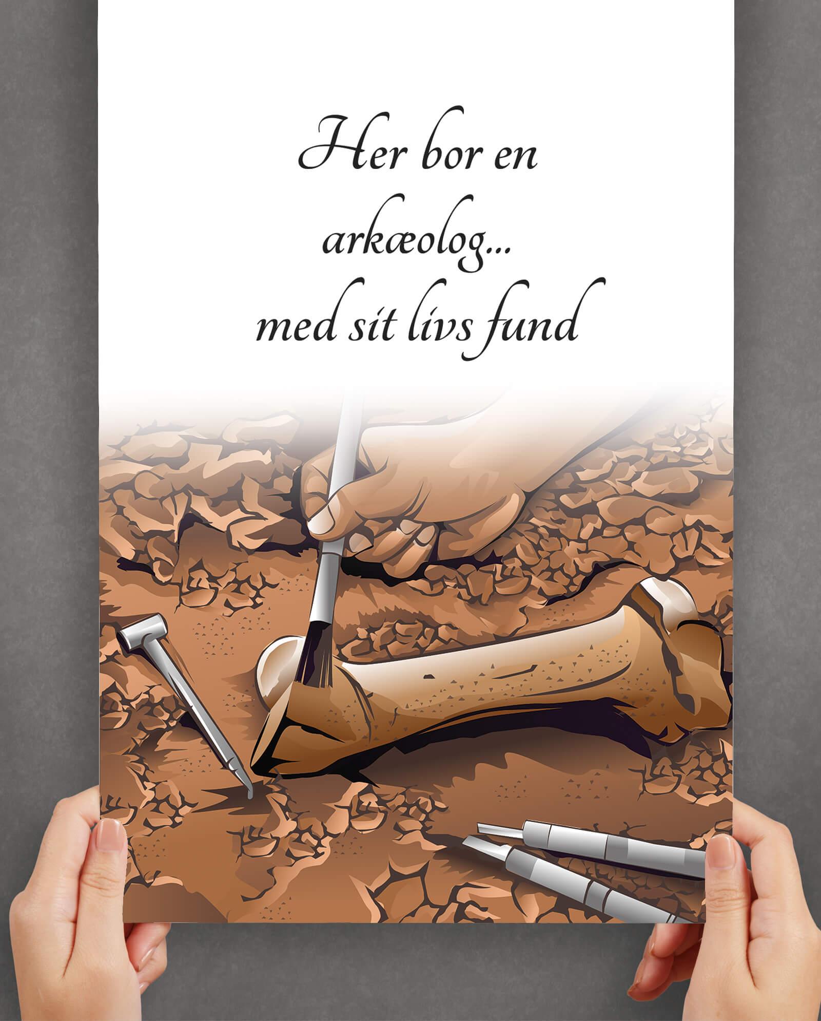 Aerkoeolog-plakat