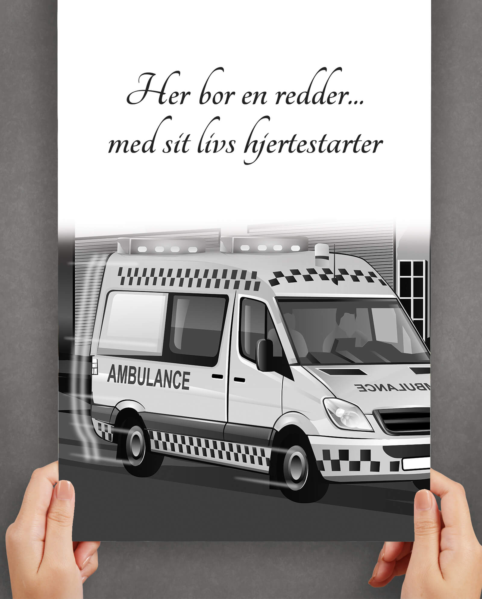 Ambulaceredder-her-bor-en