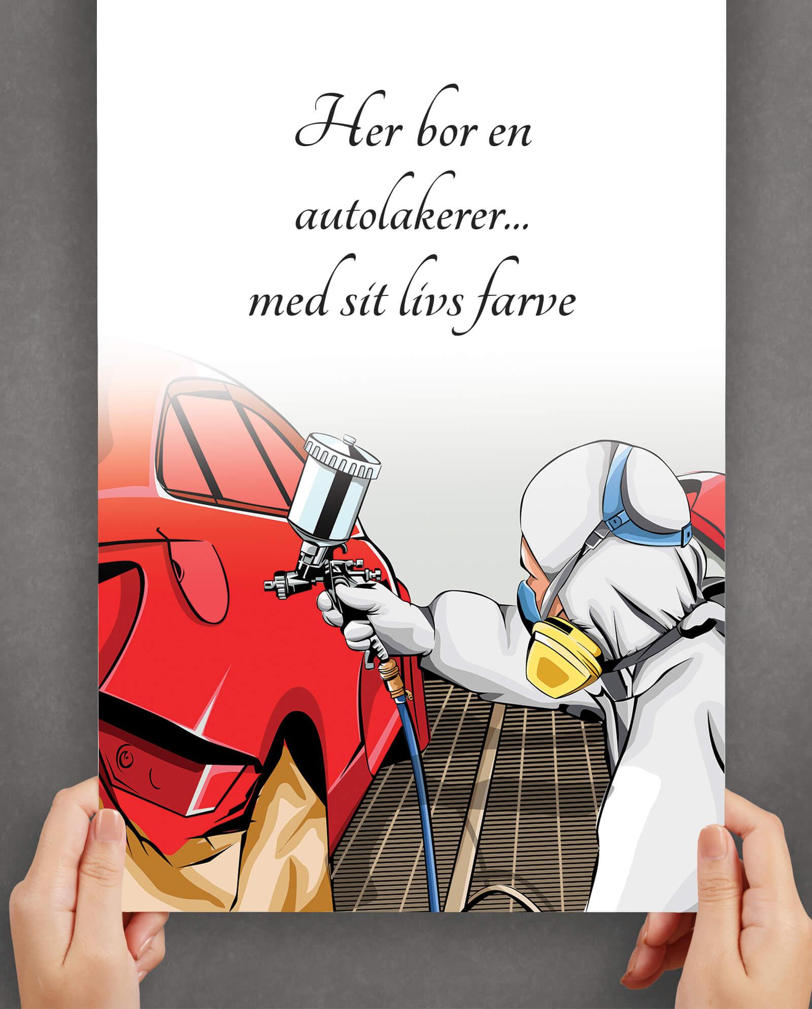 Autolakerer-plakat