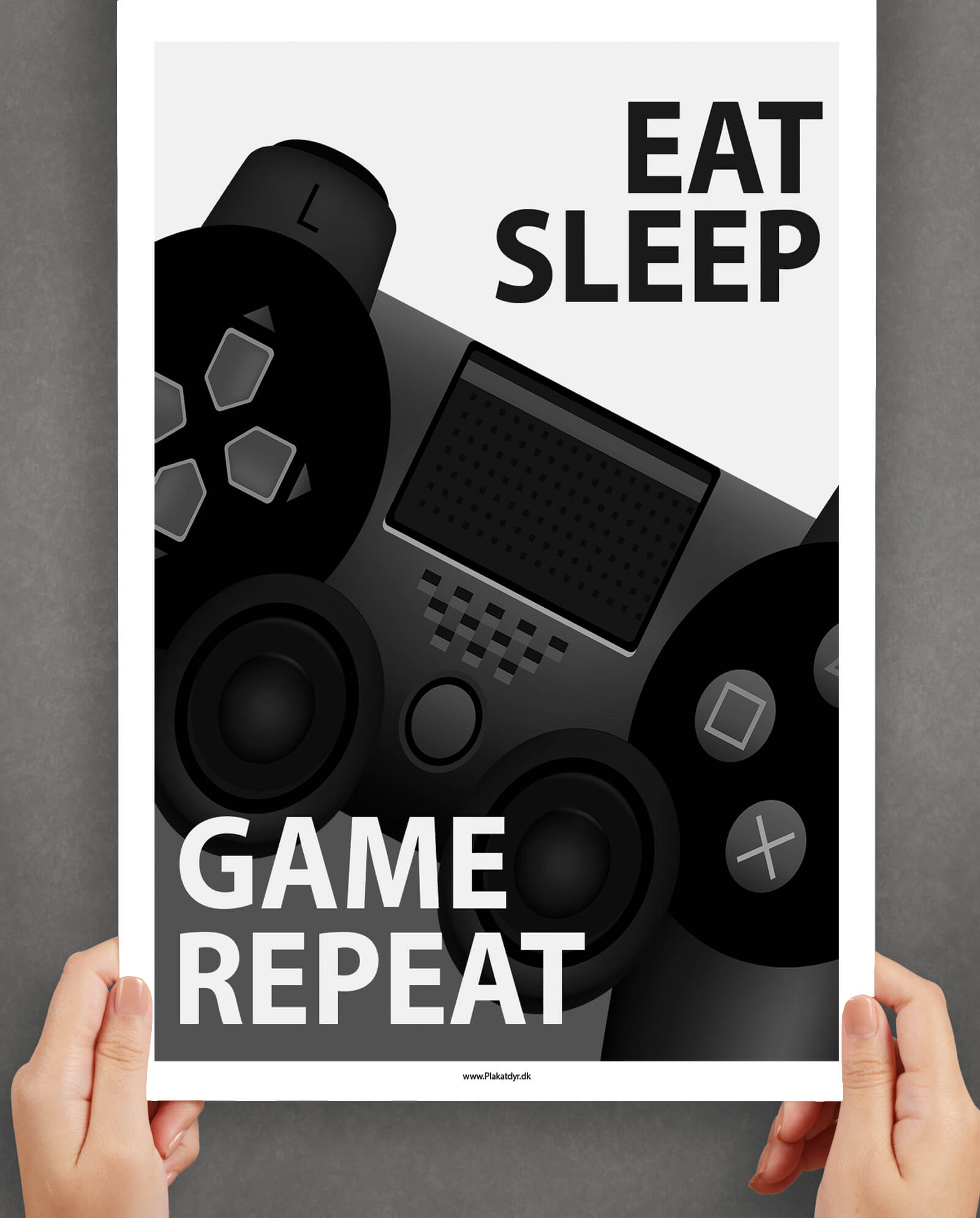 Eat-sleep-and-game-poster