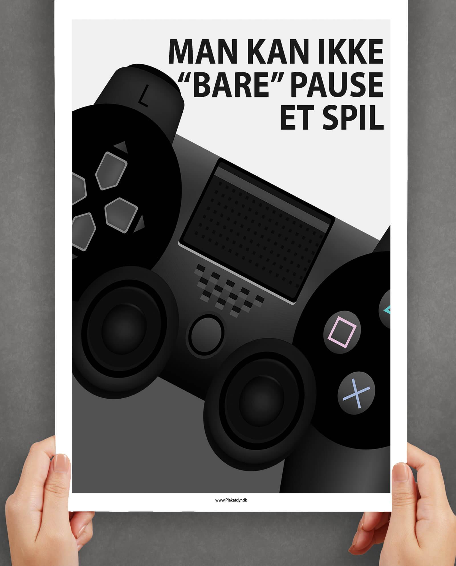 Man kan ikke bare pause et spil-gamer-plakater-1
