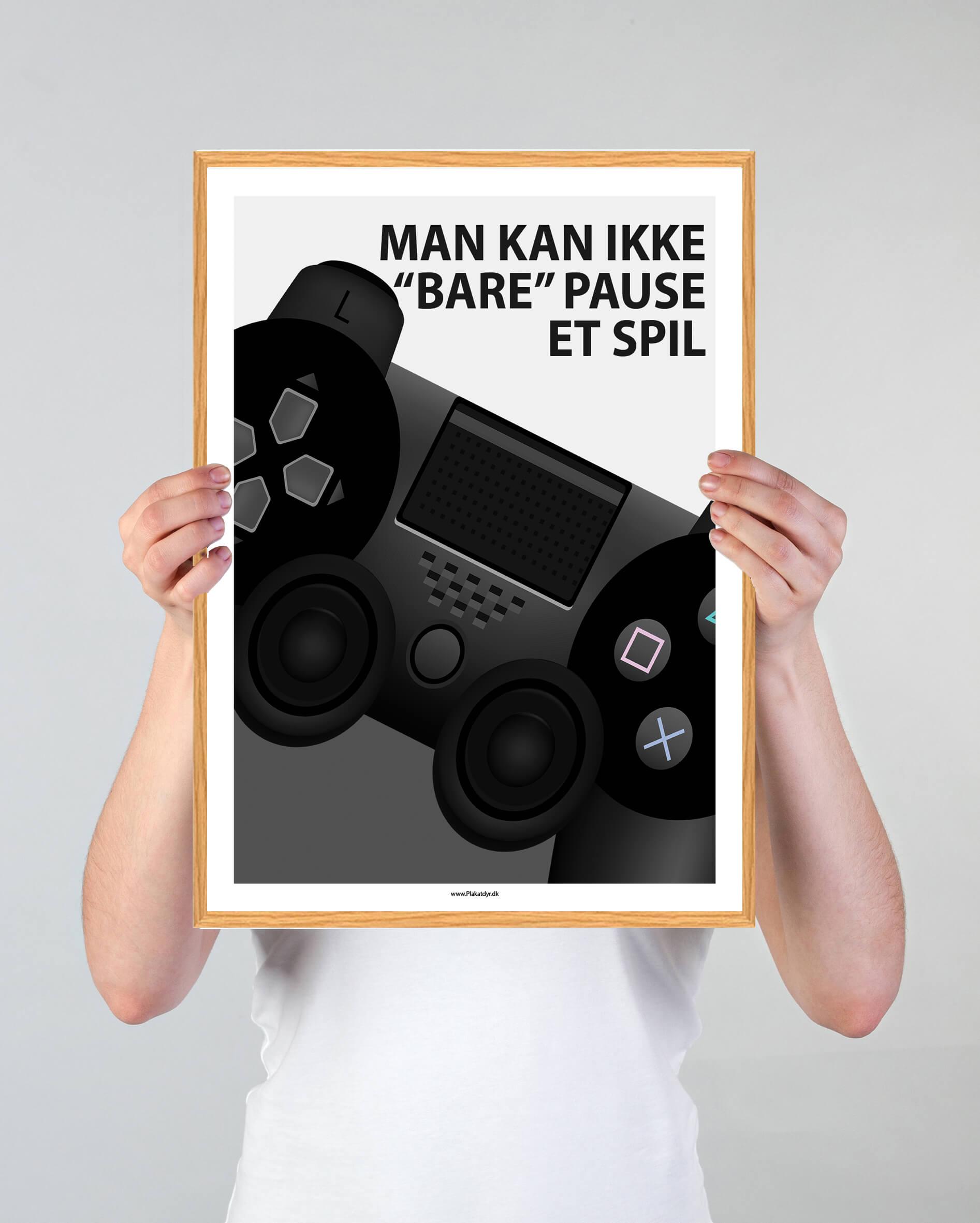 Man kan ikke bare pause et spil-gamer-plakater-2