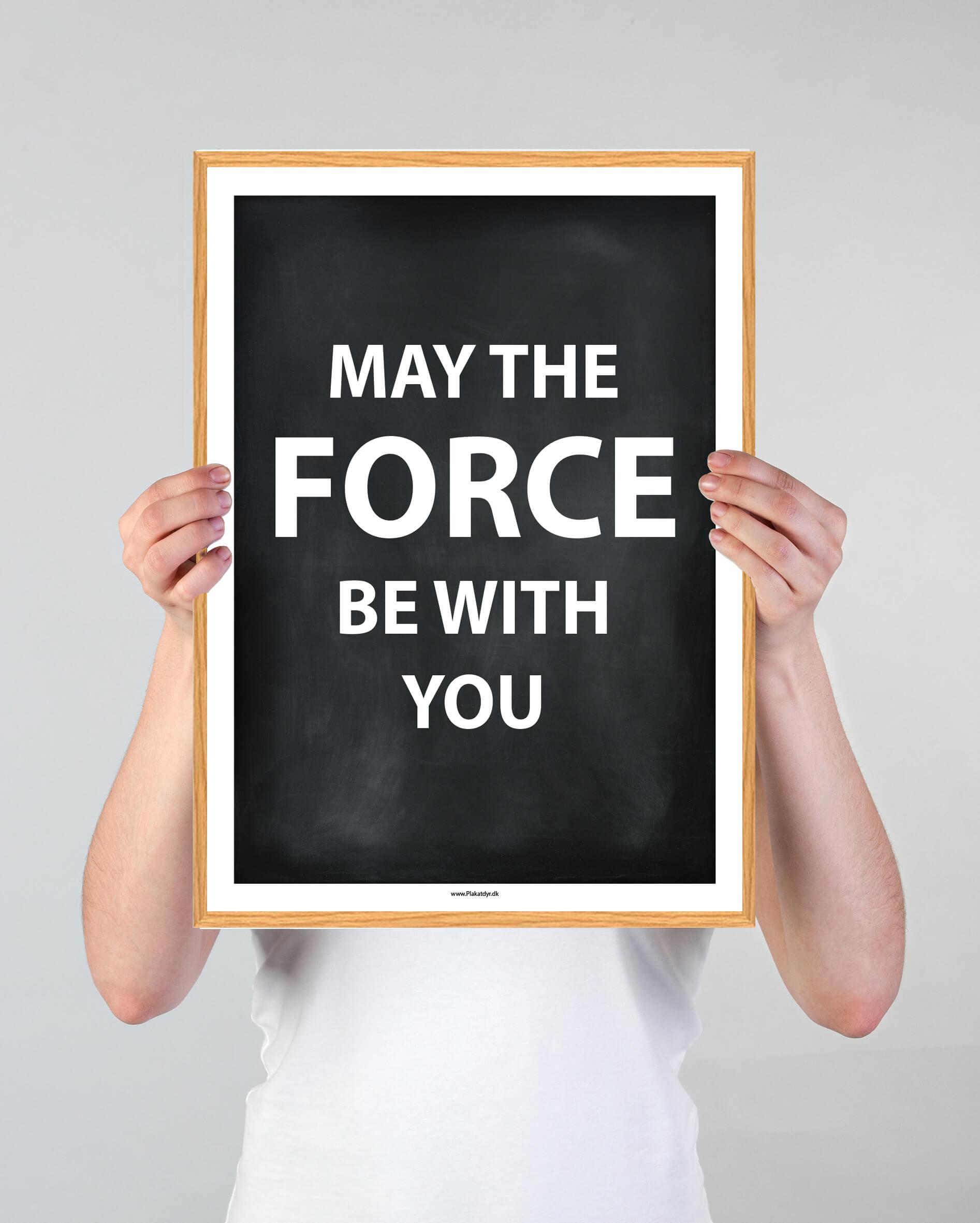force-tekst-plakat