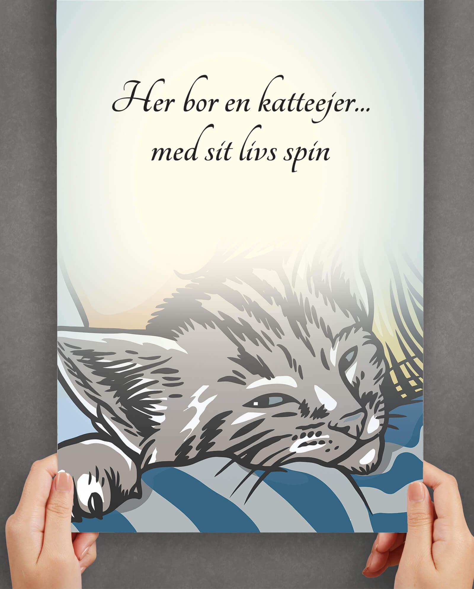 her-bor-en-katteejer-plakat