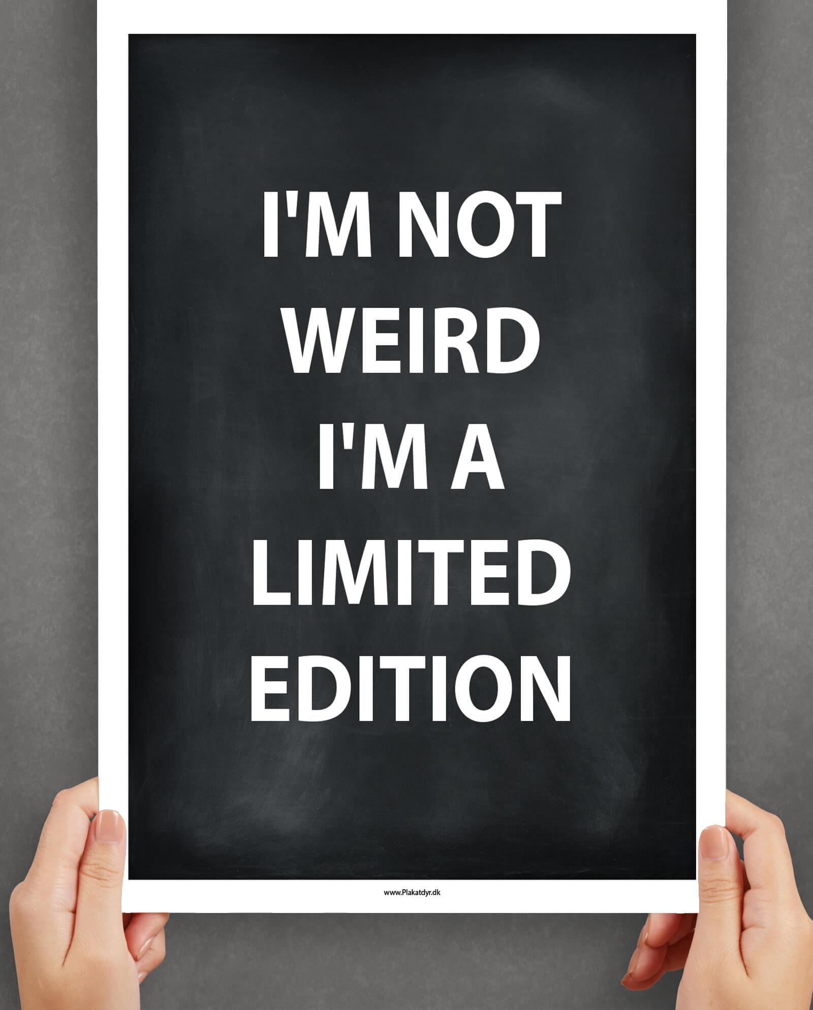 not-weird-plakat-3