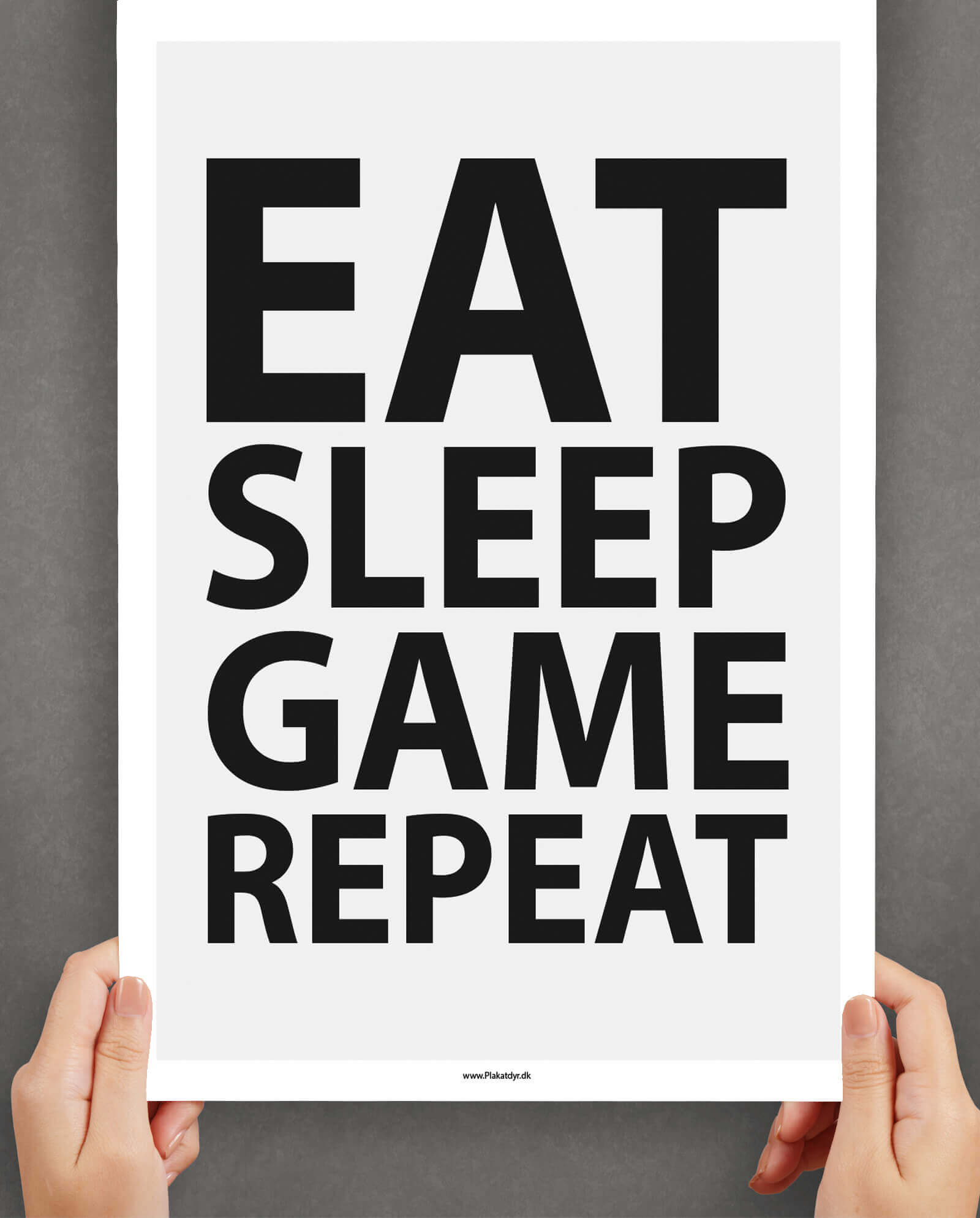 Gamer-plakat-Eat-sleep-game-repeat-1