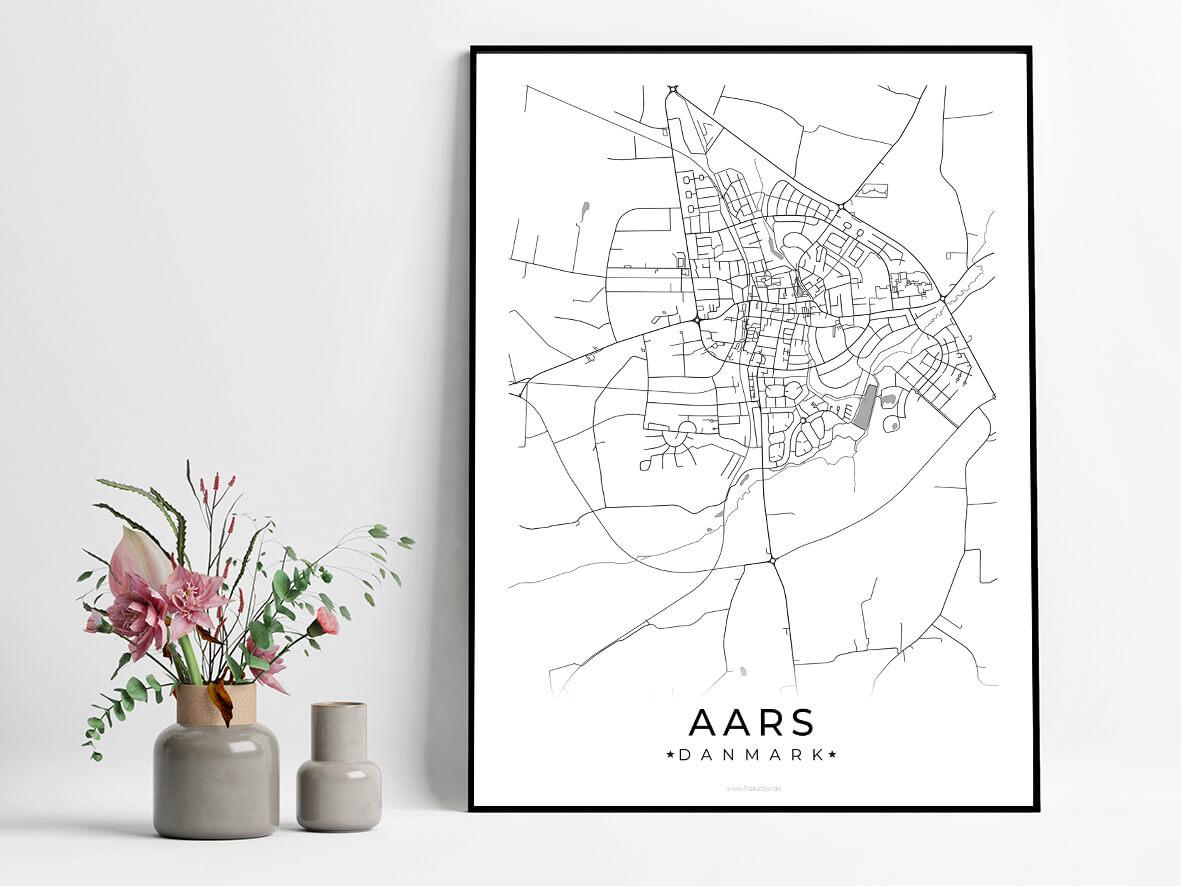 Aars-hvid-byplakat