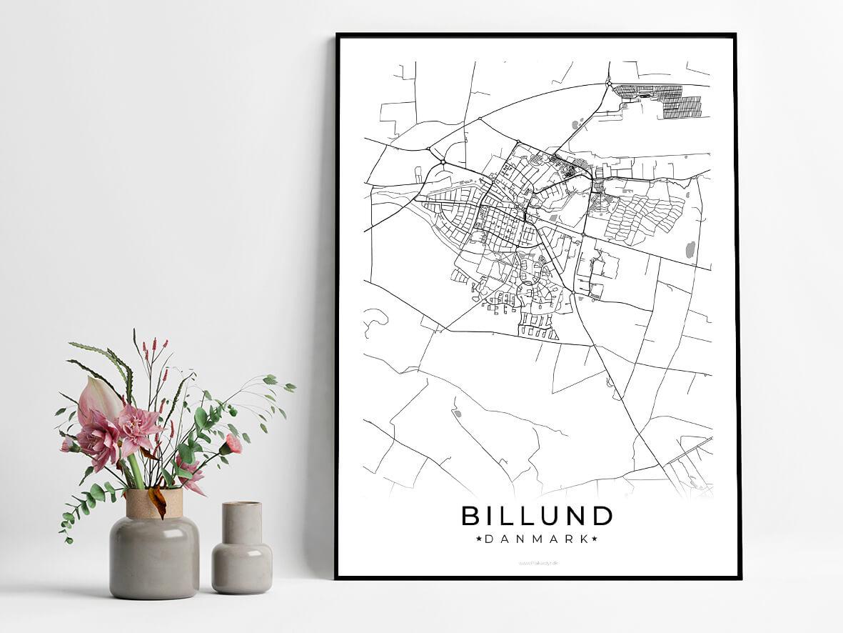 Billund-hvid-byplakat