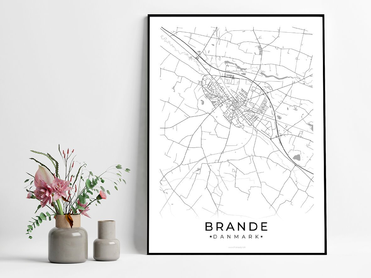Brande-hvid-byplakat