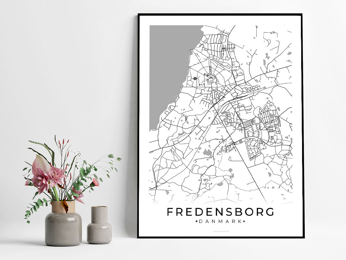 Fredensborg-hvid-byplakat