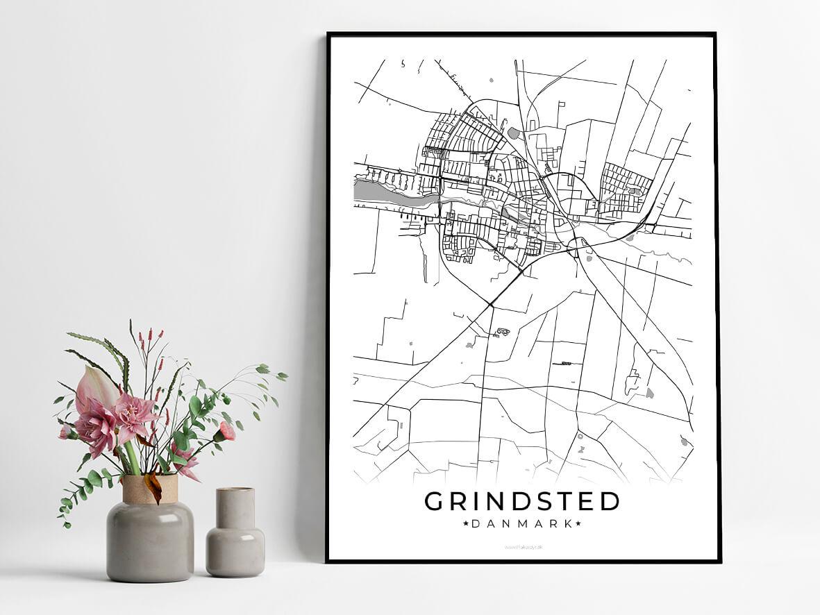 Grindsted-hvid-byplakat