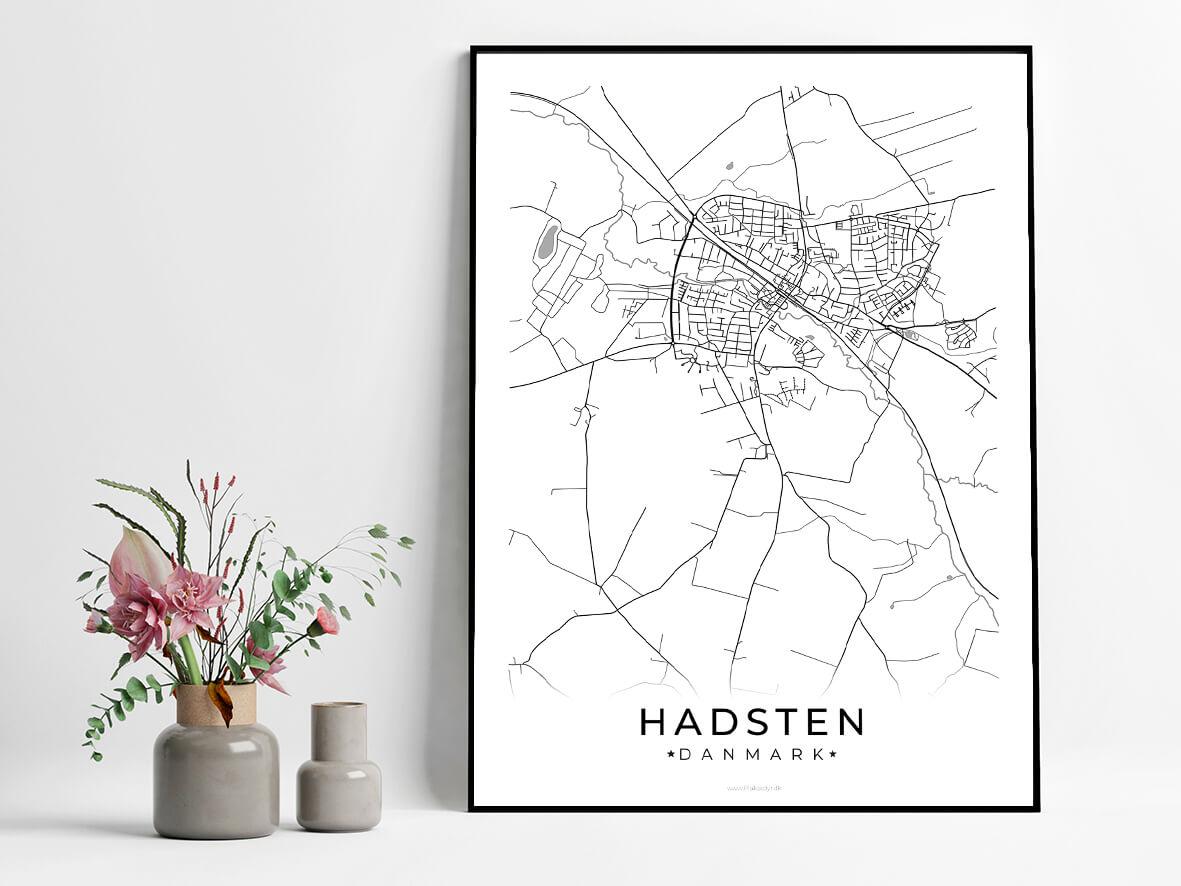 Hadsten-hvid-byplakat