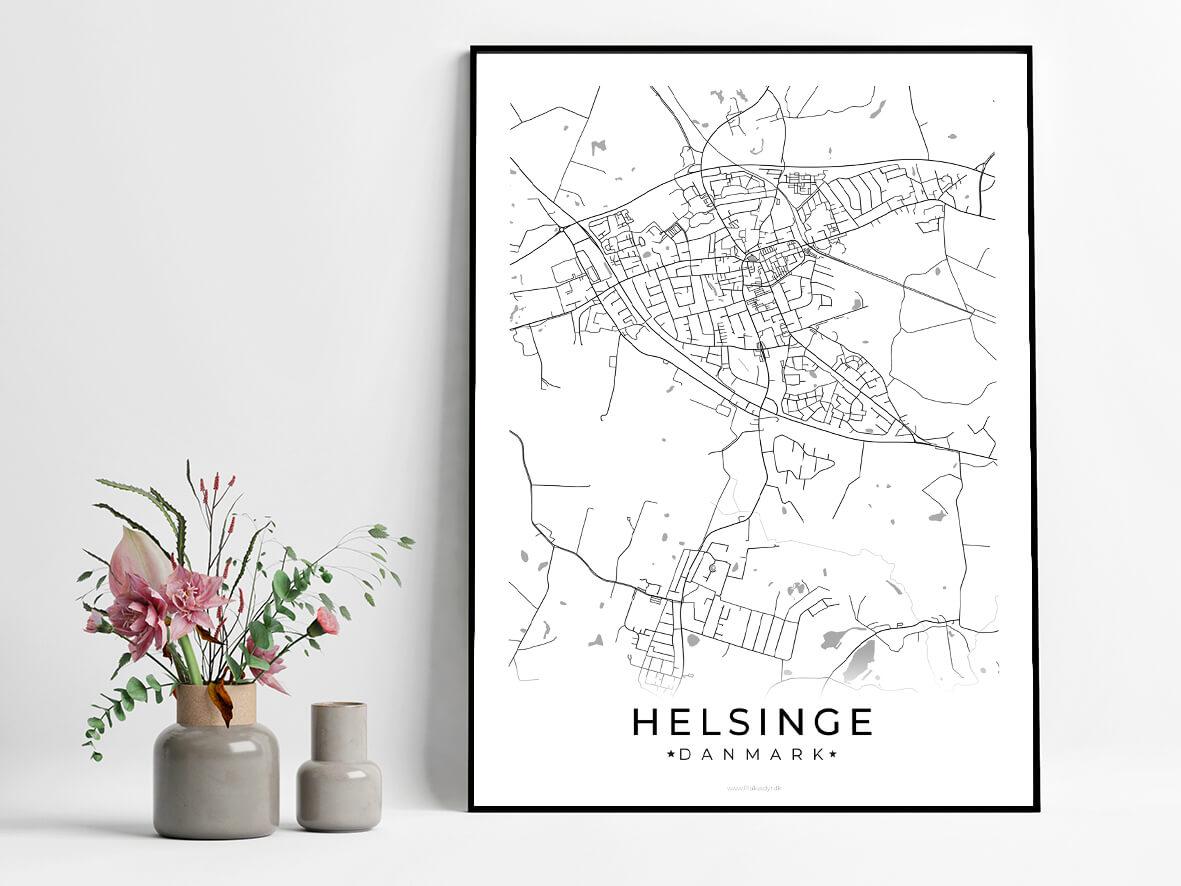 Helsinge-hvid-byplakat