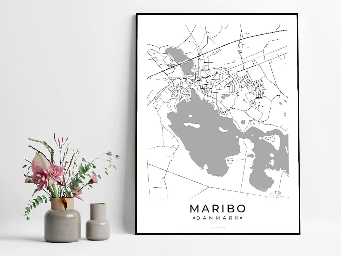 Maribo-hvid-byplakat
