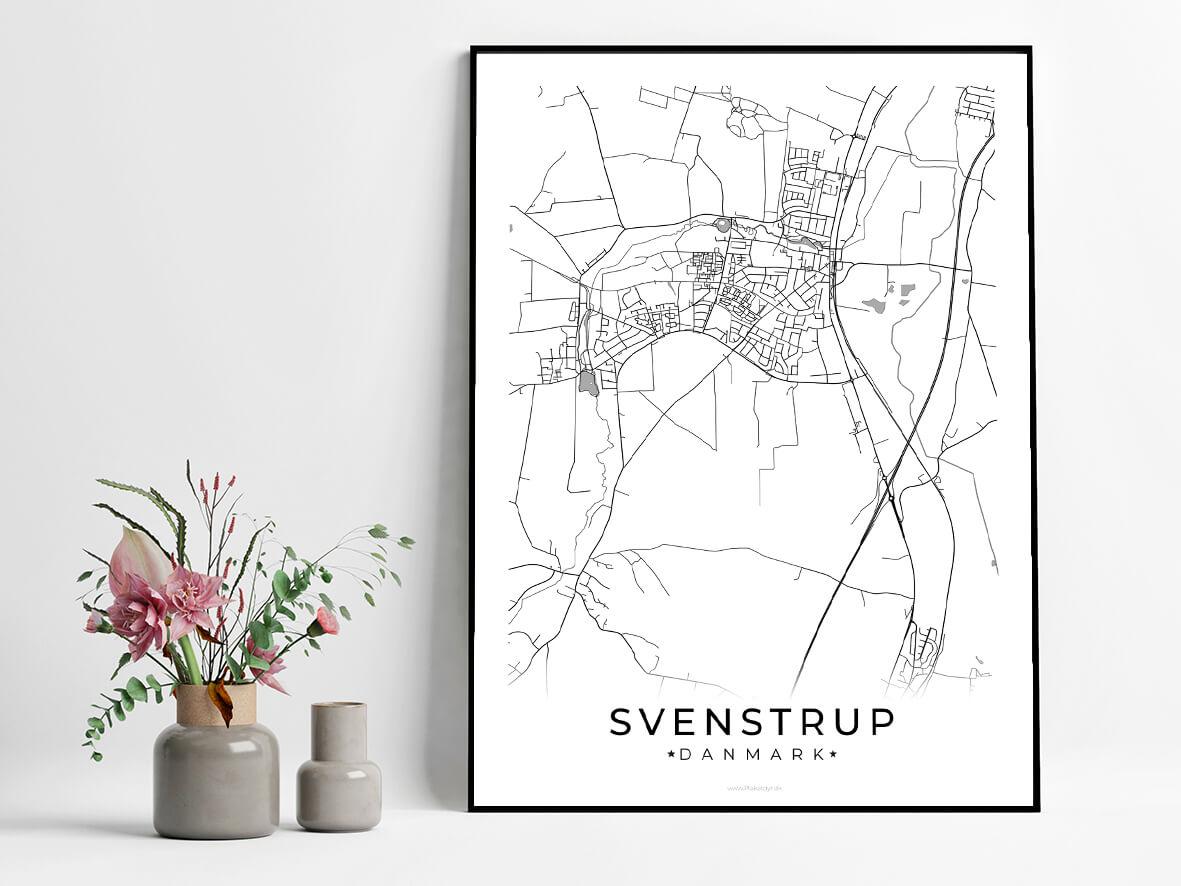 Svenstrup-hvid-byplakat