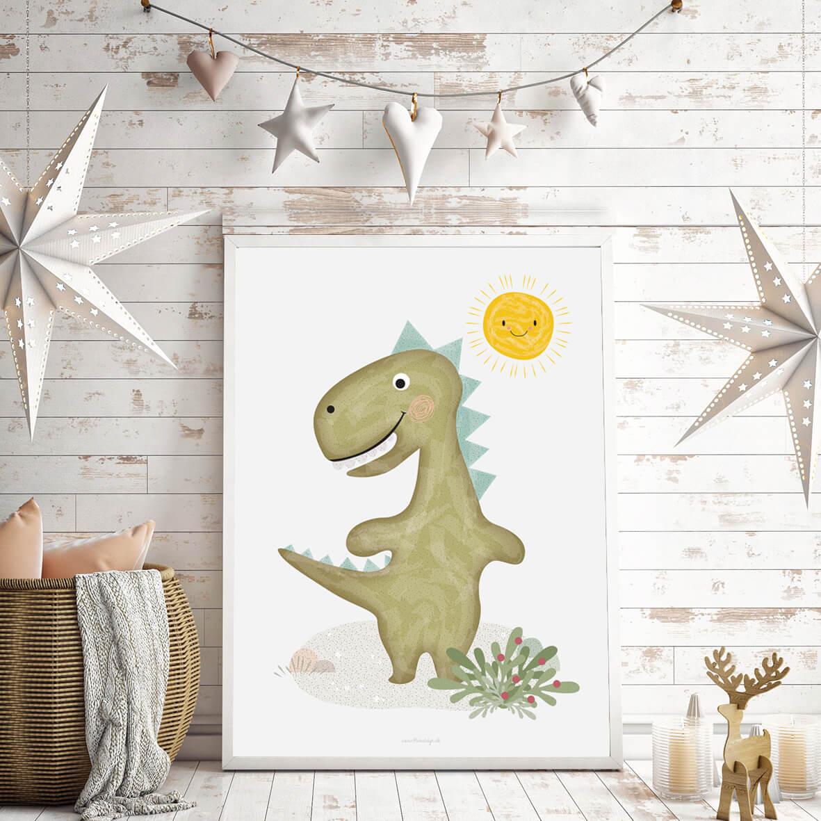 plakat-med-dinosaur-2