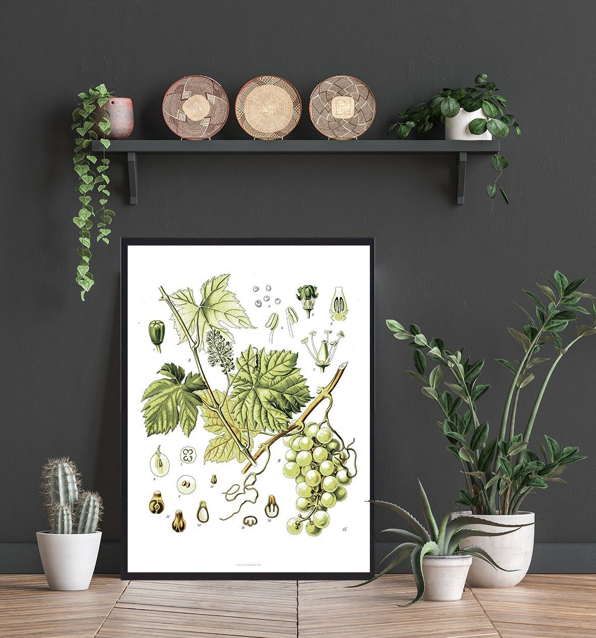 Natur-plakat-wallart-sort-2
