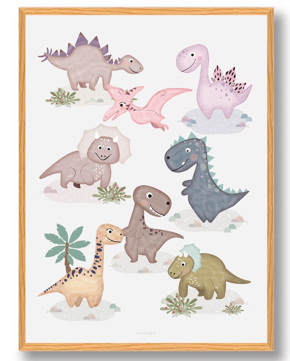 Dinosaurplakat