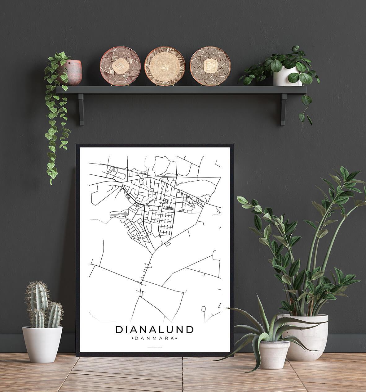 Dianalund-byplakat-billig