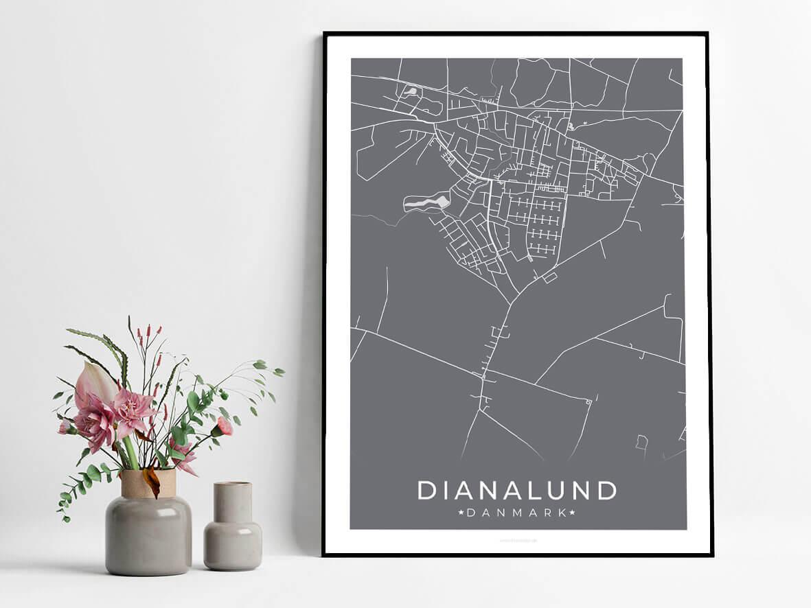 Dianalund-byplakat-graa