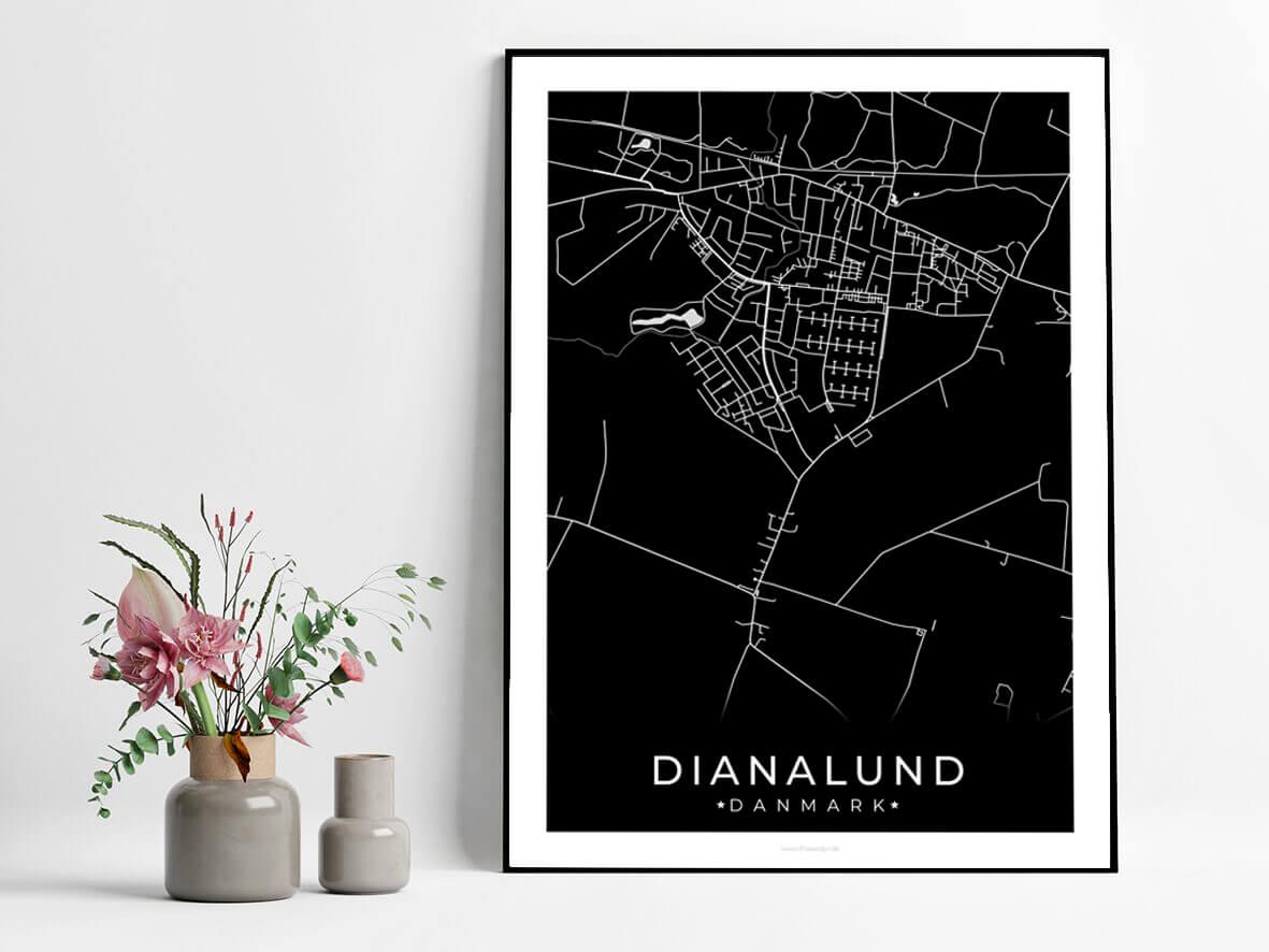Dianalund-byplakat-sort-3