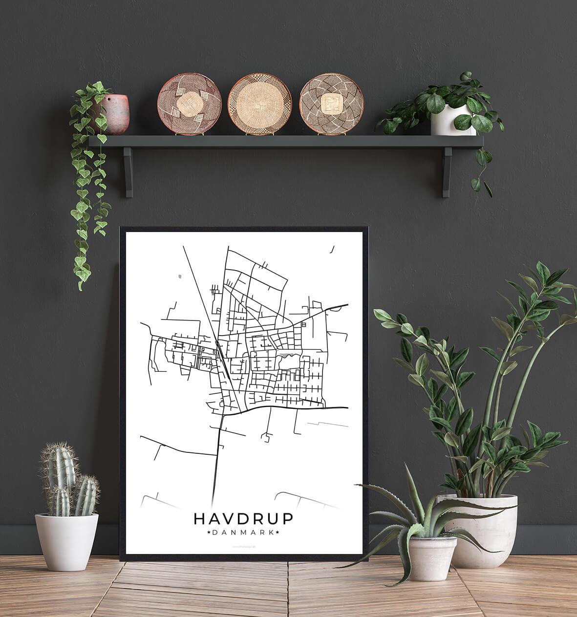 Havdrup-byplakat-billig