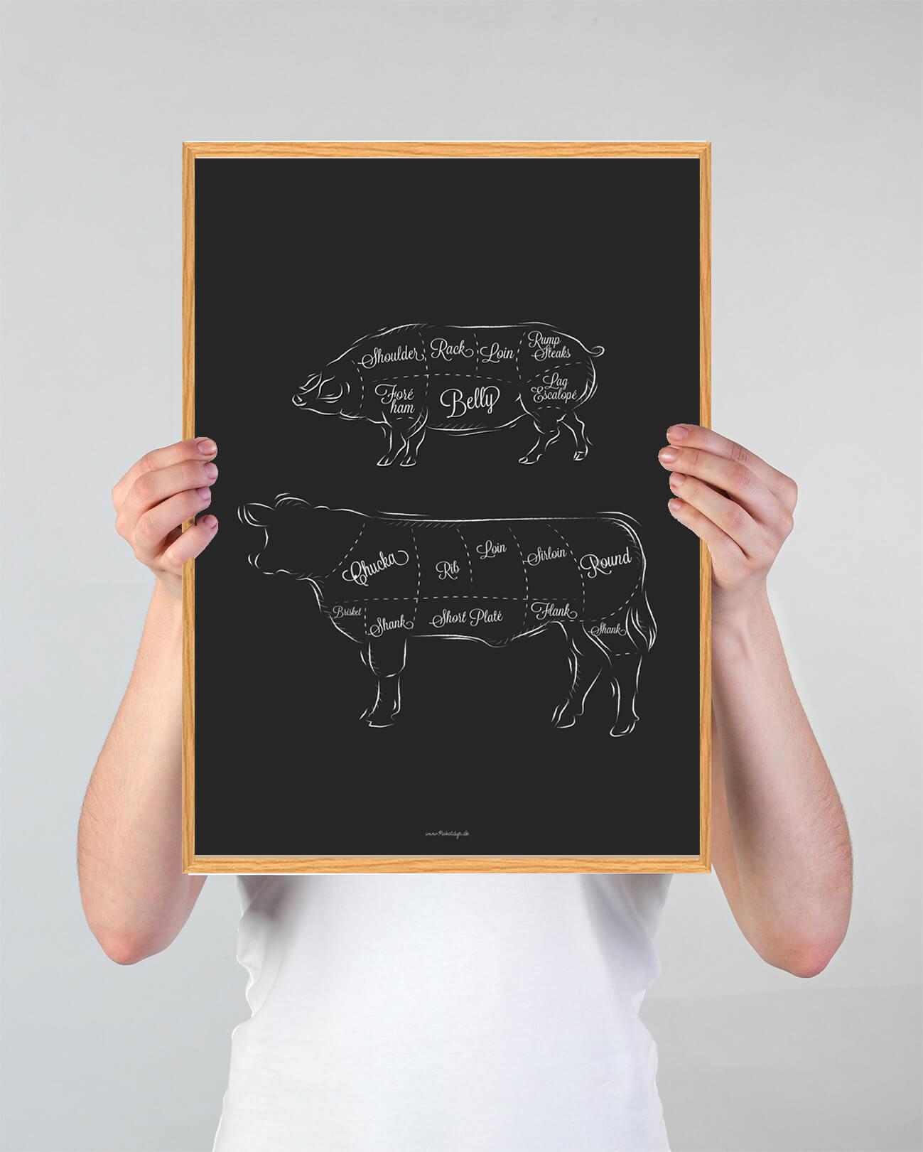 Koedudskaering-ko-gris-plakat-3