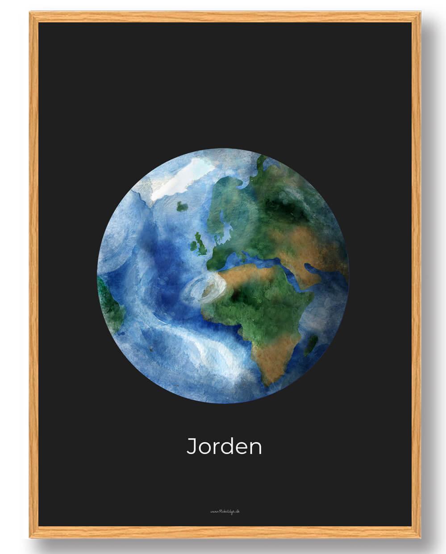 Jorden - rumplakat