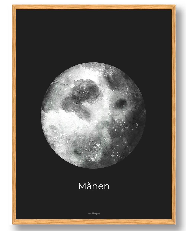 Månen - rumplakat