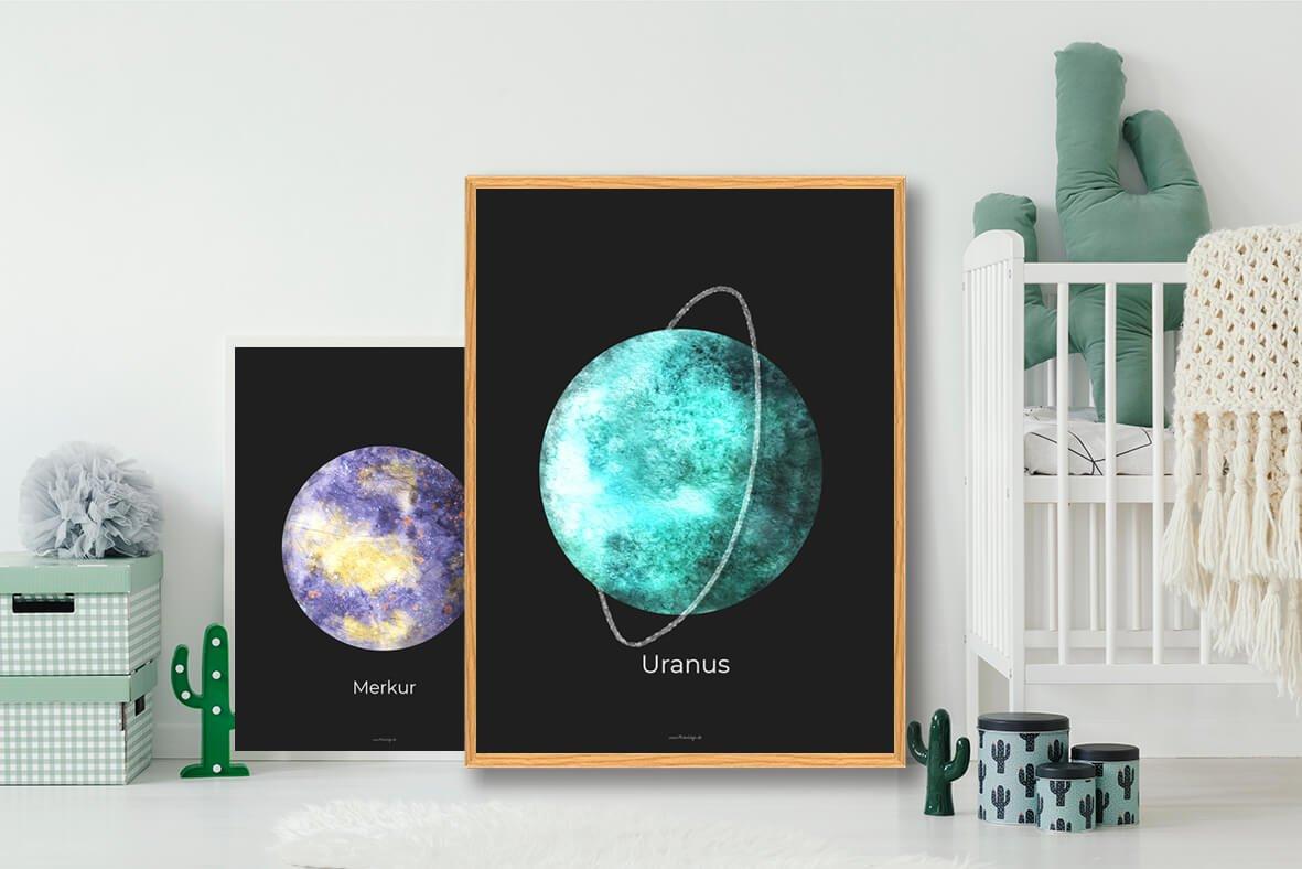 Uranus-planet-plakat-2