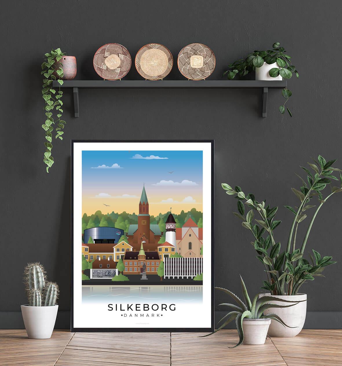 Silkeborg-byplakat-motiver-1
