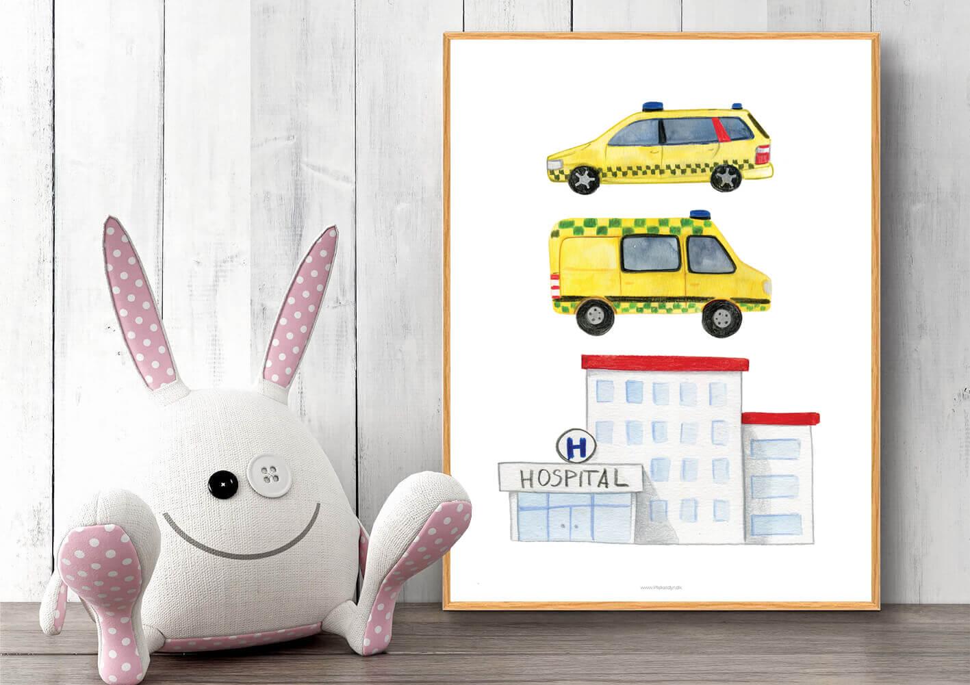 Hospital-ambulance-boerneplakat-1